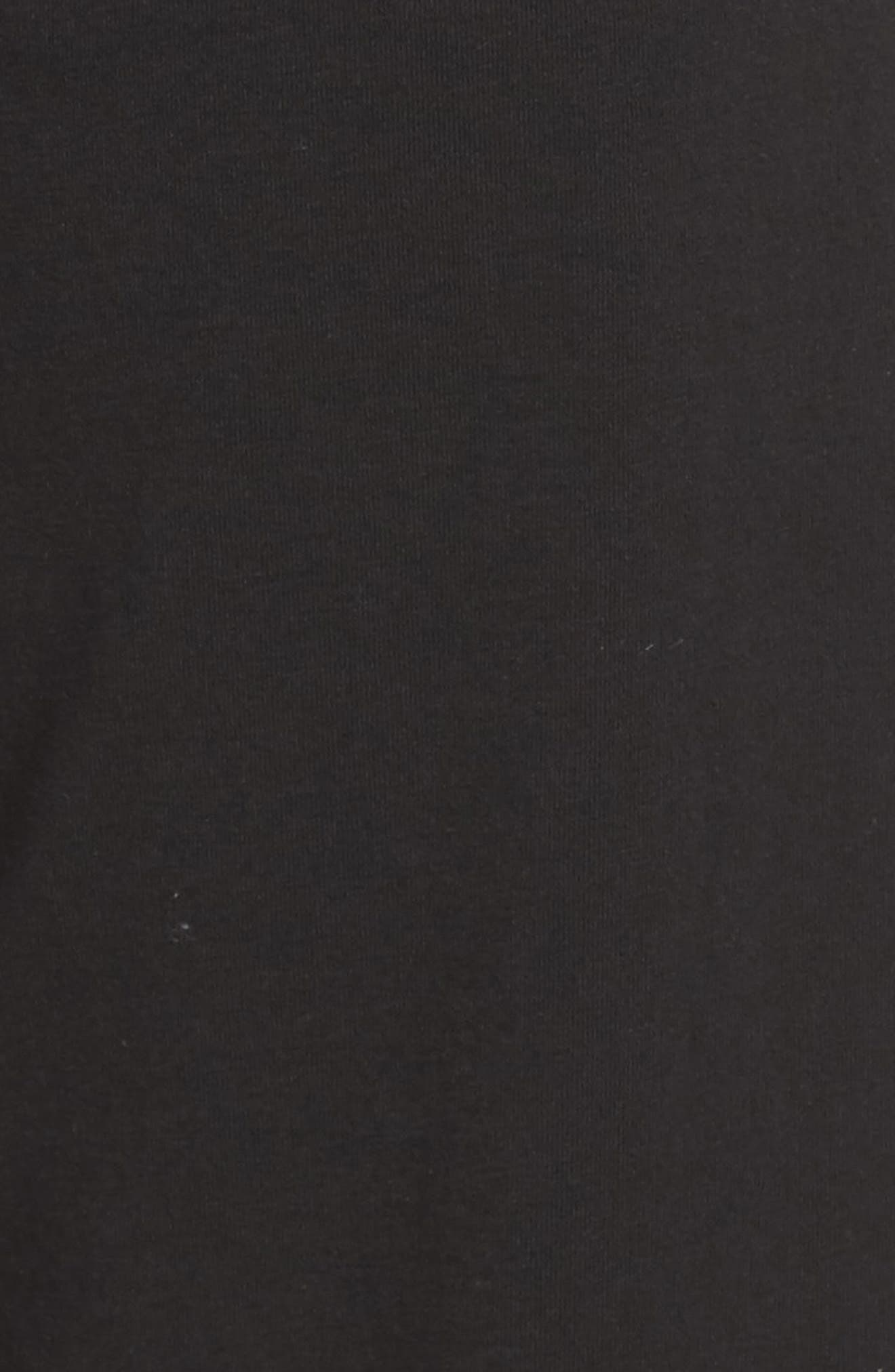 Wide Leg Stretch Cotton Pajama Pants,                             Alternate thumbnail 5, color,                             001