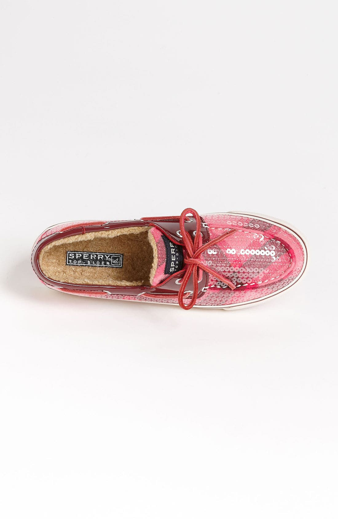 Top-Sider<sup>®</sup> 'Bahama' Sequined Boat Shoe,                             Alternate thumbnail 160, color,