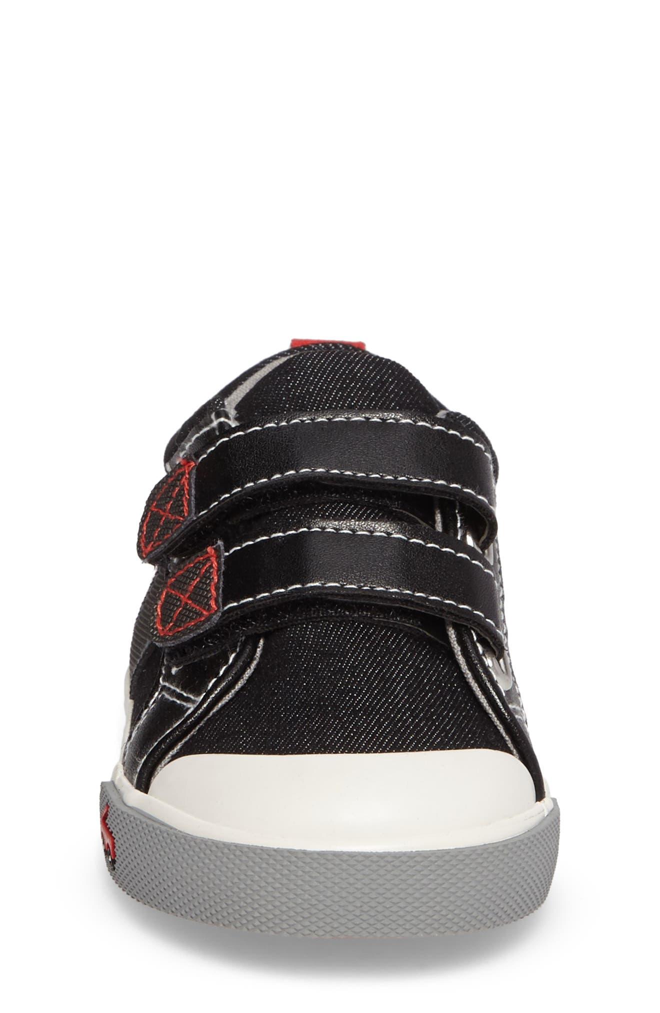 'Russell' Sneaker,                             Alternate thumbnail 4, color,                             003