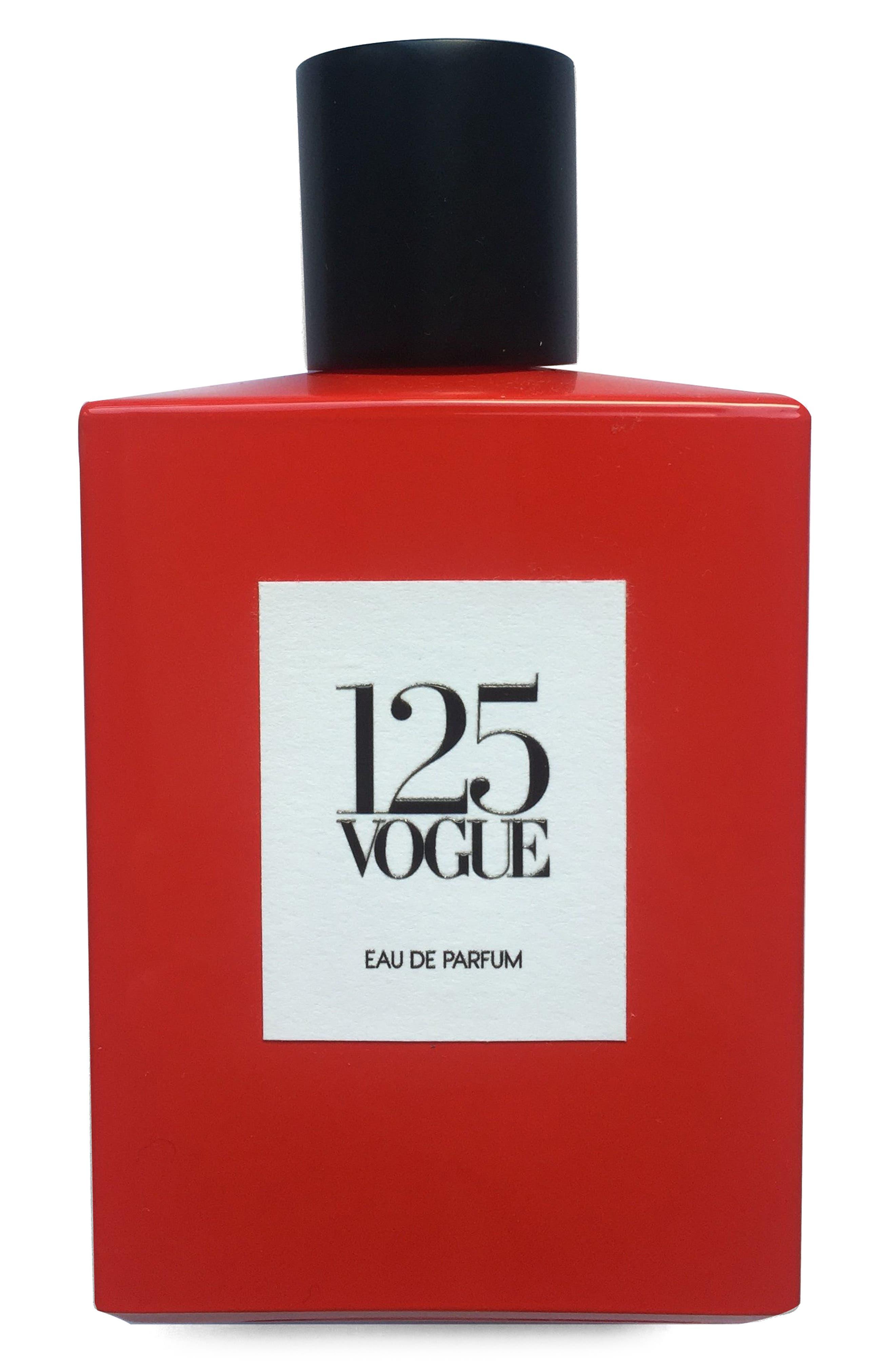 125 Vogue Eau de Parfum,                             Main thumbnail 1, color,                             RED