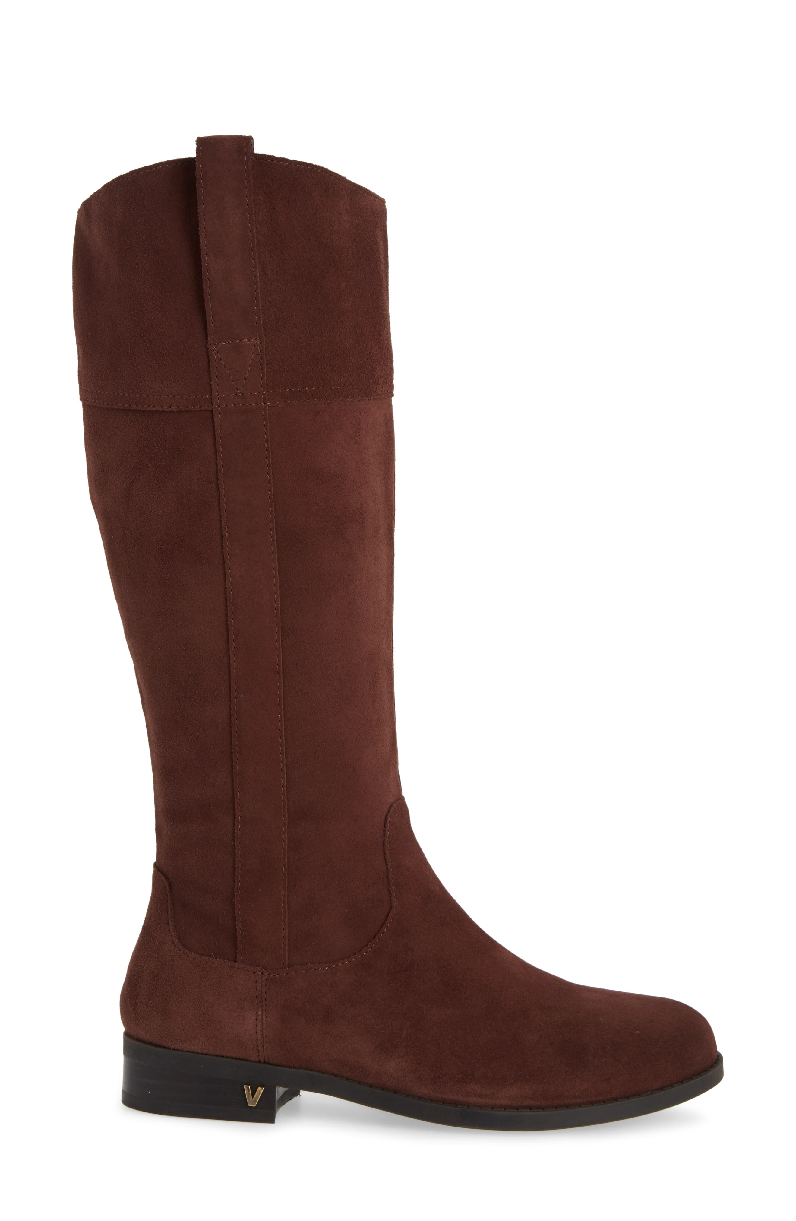 Downing Boot,                             Alternate thumbnail 3, color,                             CHOCOLATE SUEDE