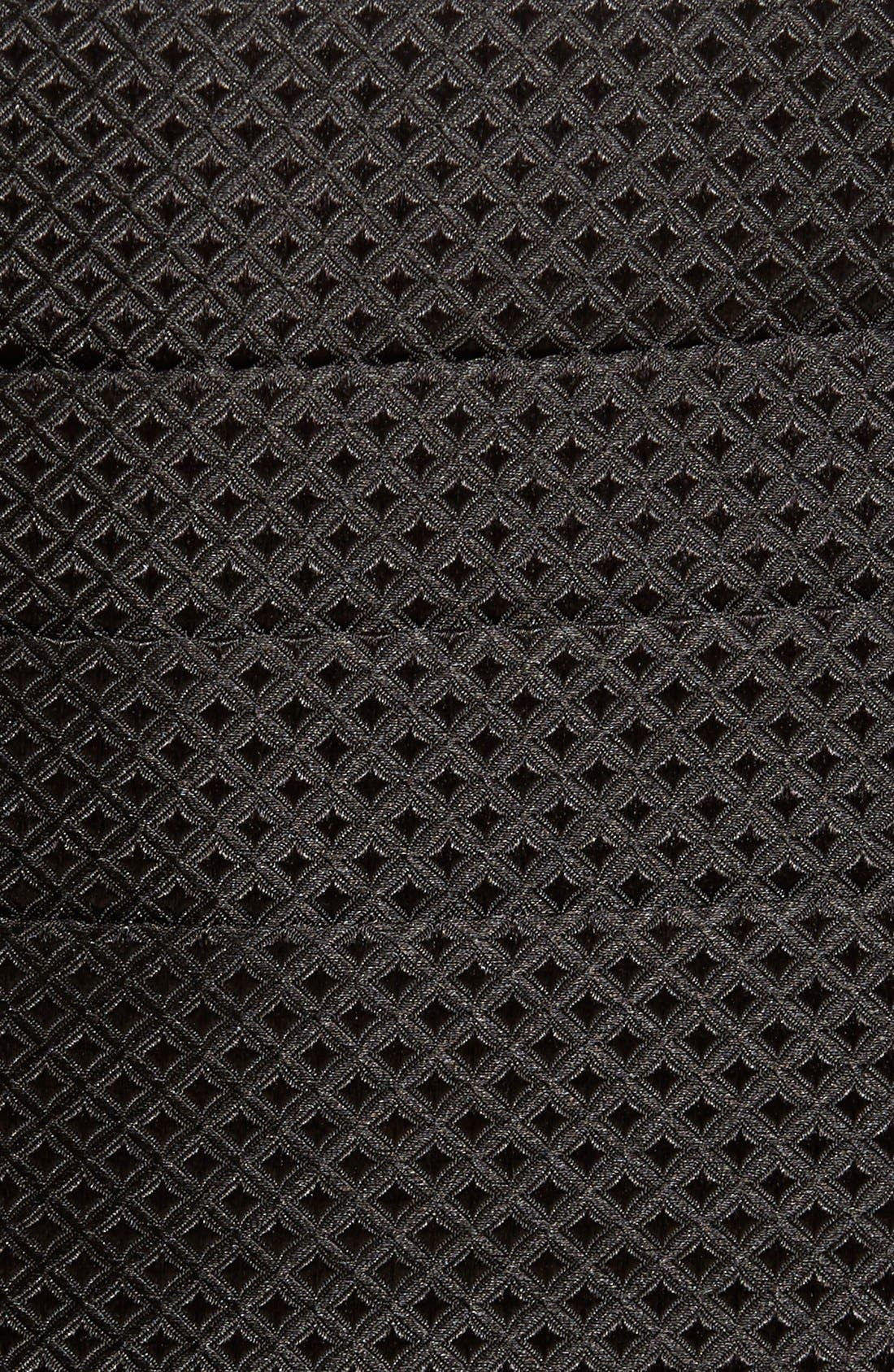 'Protocol' Silk Cummerbund & Bow Tie Set,                             Alternate thumbnail 5, color,                             001