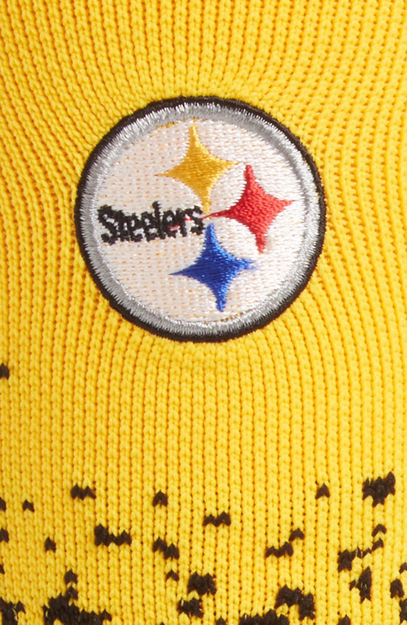Pittsburgh Steelers - Fade Socks,                             Alternate thumbnail 2, color,                             YELLOW