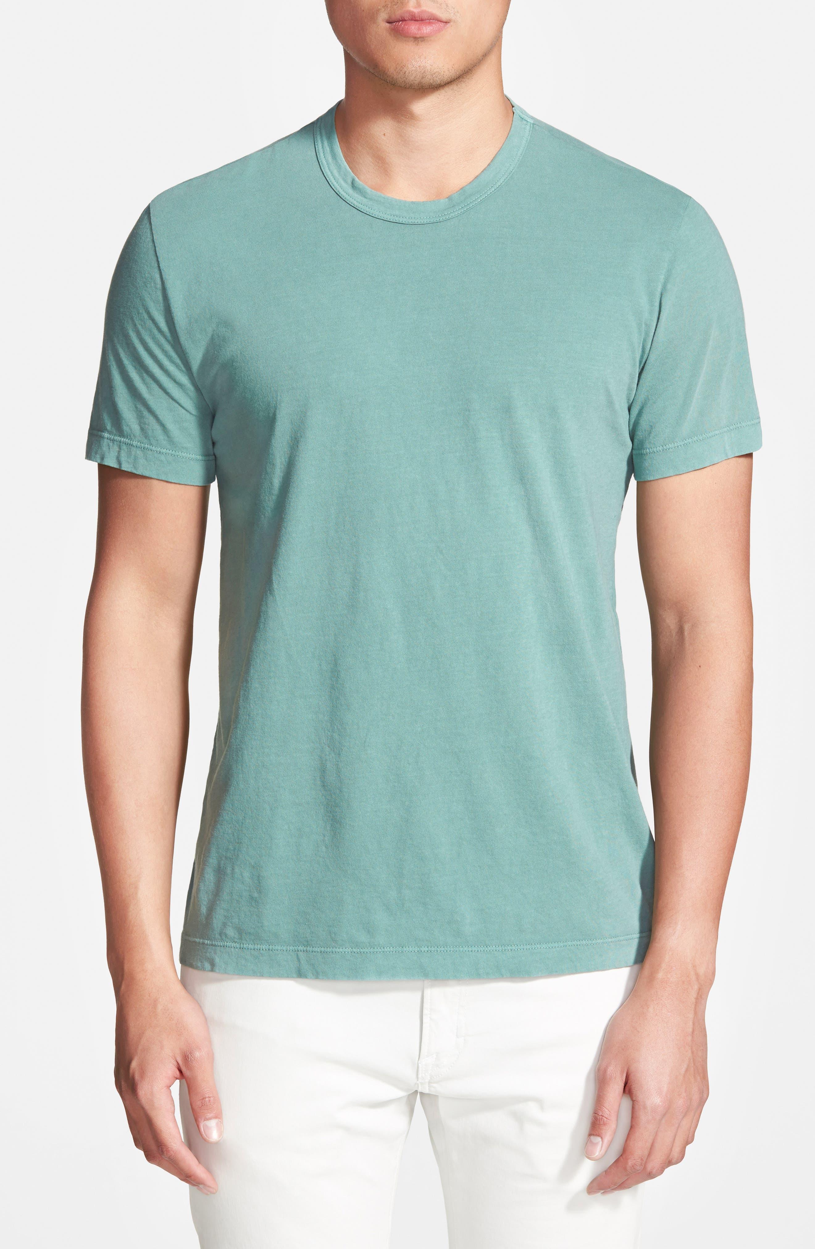 Crewneck Jersey T-Shirt,                             Alternate thumbnail 191, color,