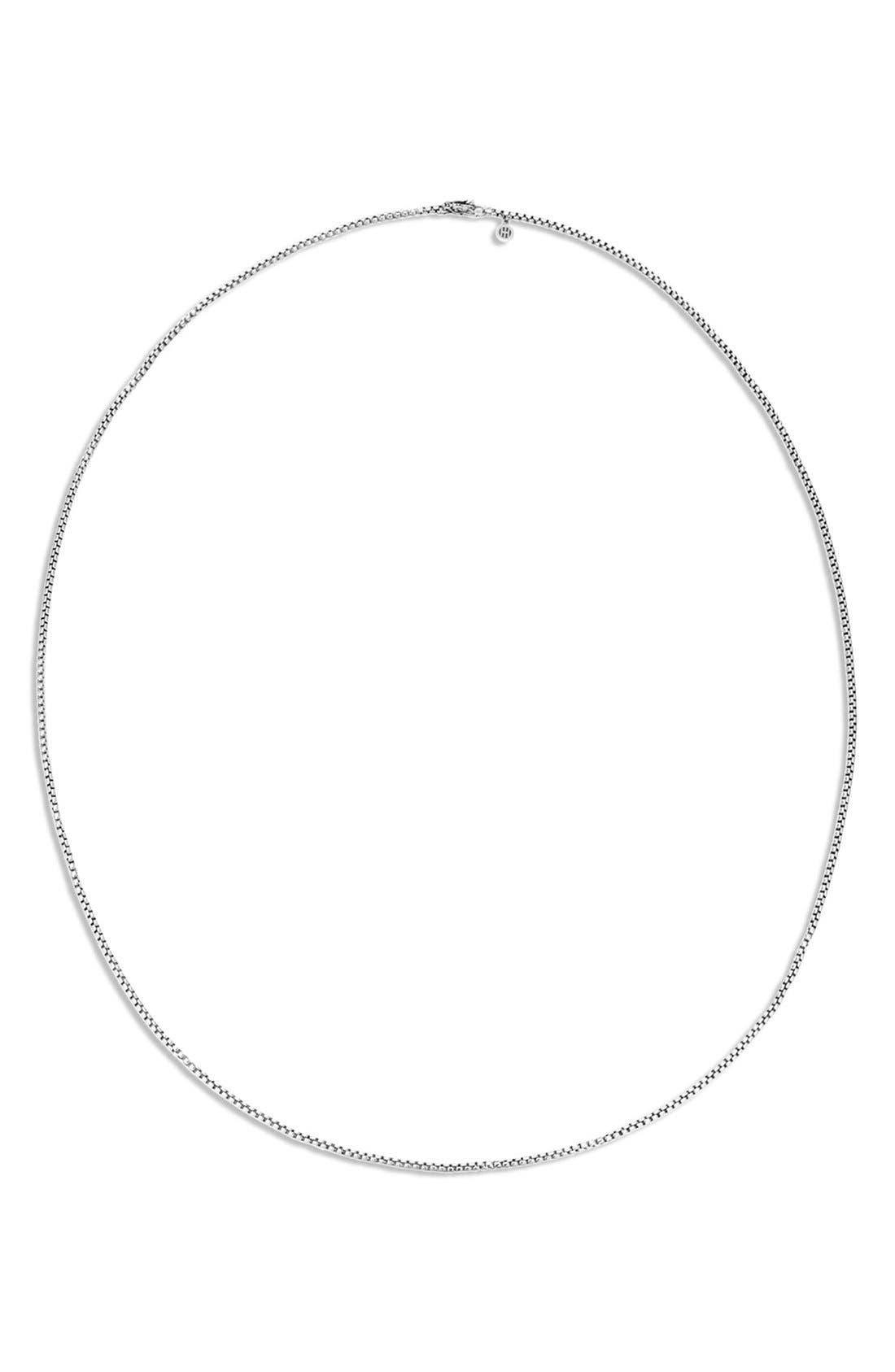 'Legends' Box Chain Necklace,                         Main,                         color, 040