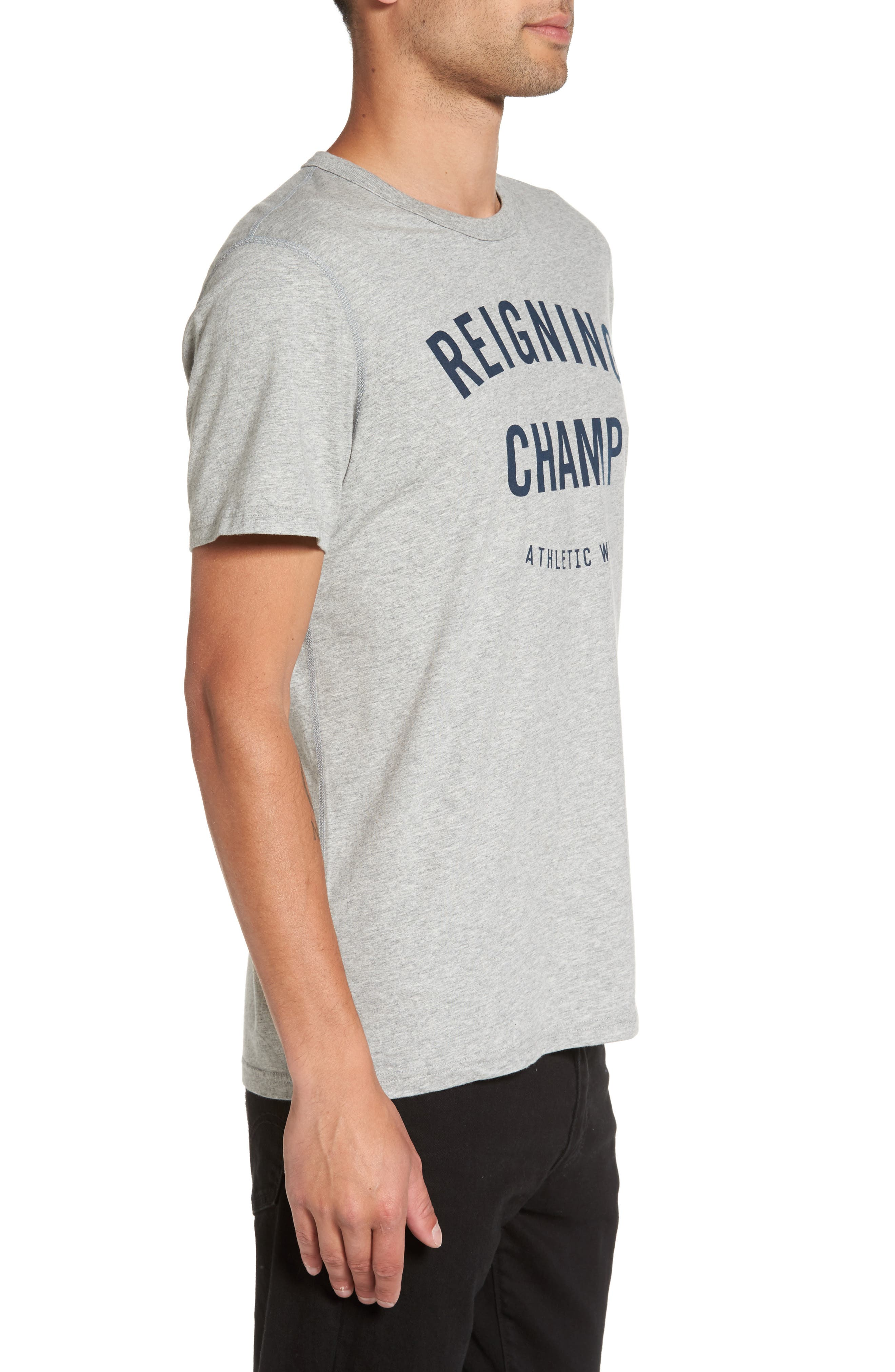 'Gym Logo' Graphic T-Shirt,                             Alternate thumbnail 3, color,                             037