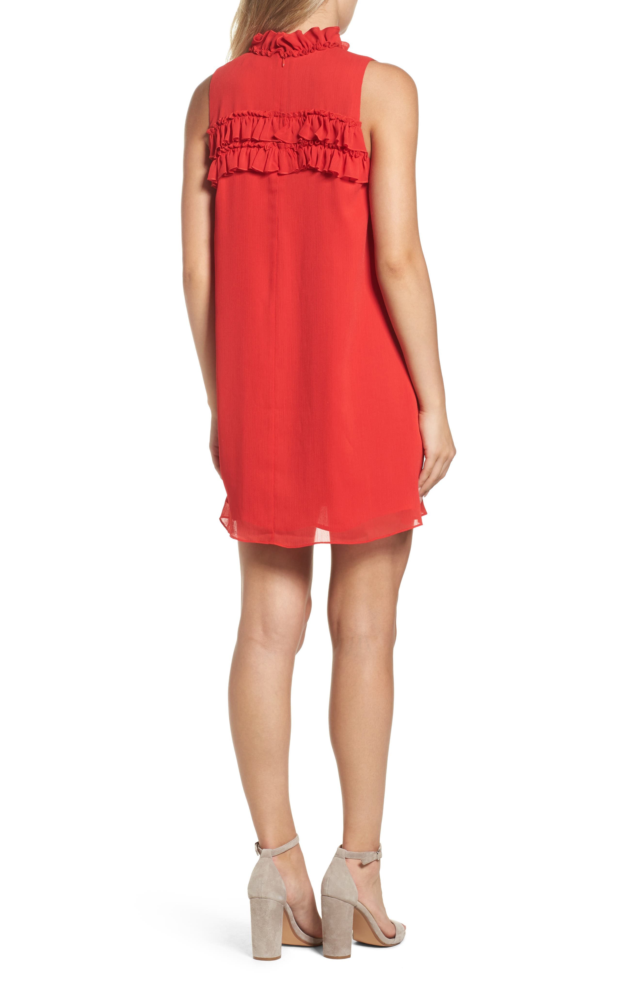 Hanson Trapeze Dress,                             Alternate thumbnail 2, color,                             638