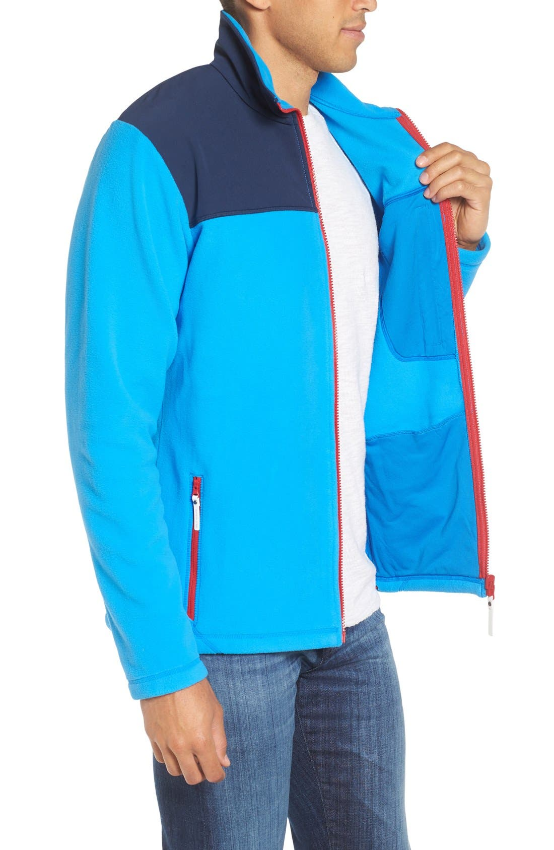 Sitka Fleece Jacket,                             Alternate thumbnail 9, color,
