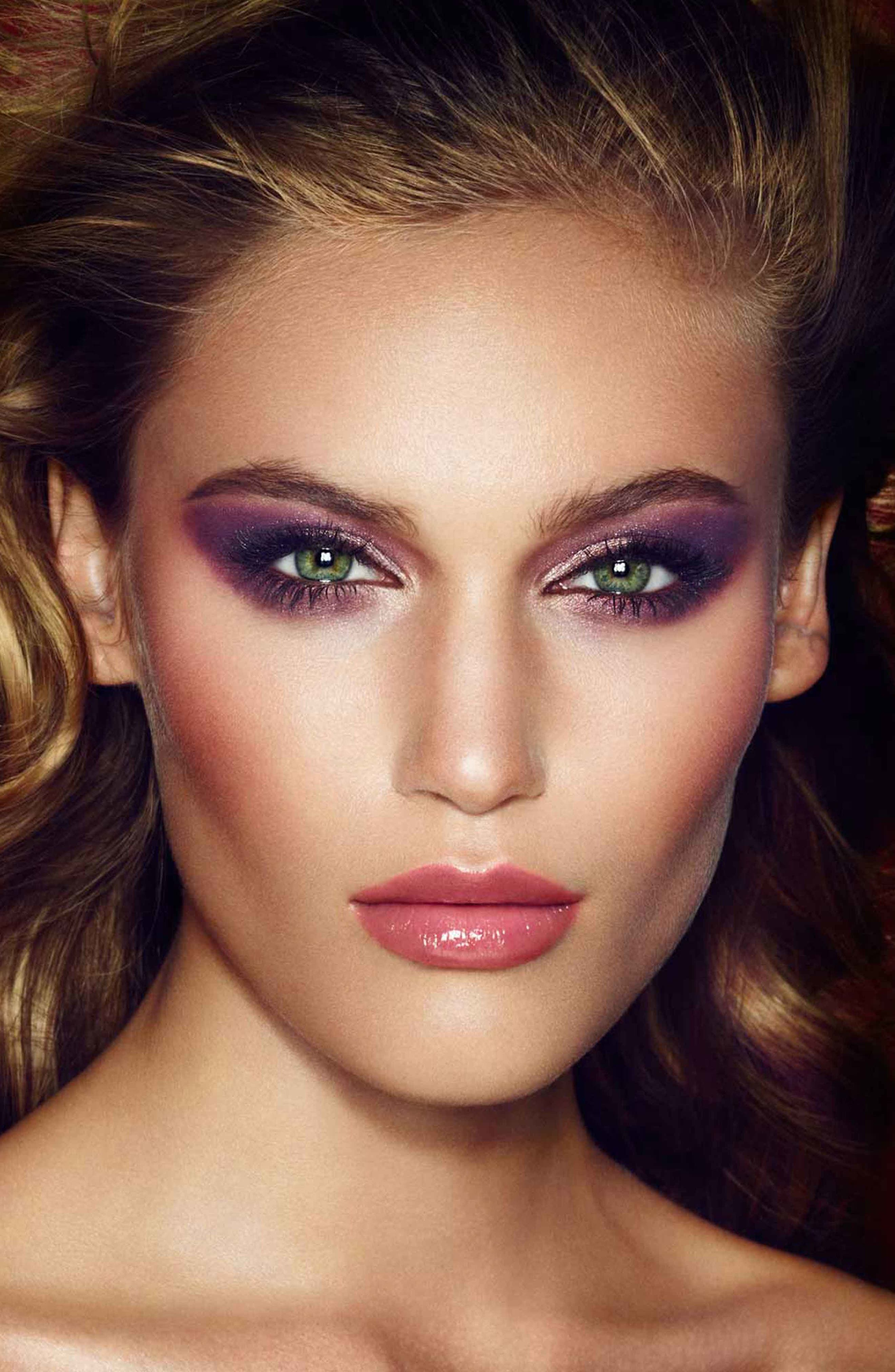 Luxury Palette - The Glamour Muse Color-Coded Eyeshadow Palette,                             Alternate thumbnail 6, color,                             THE GLAMOUR MUSE