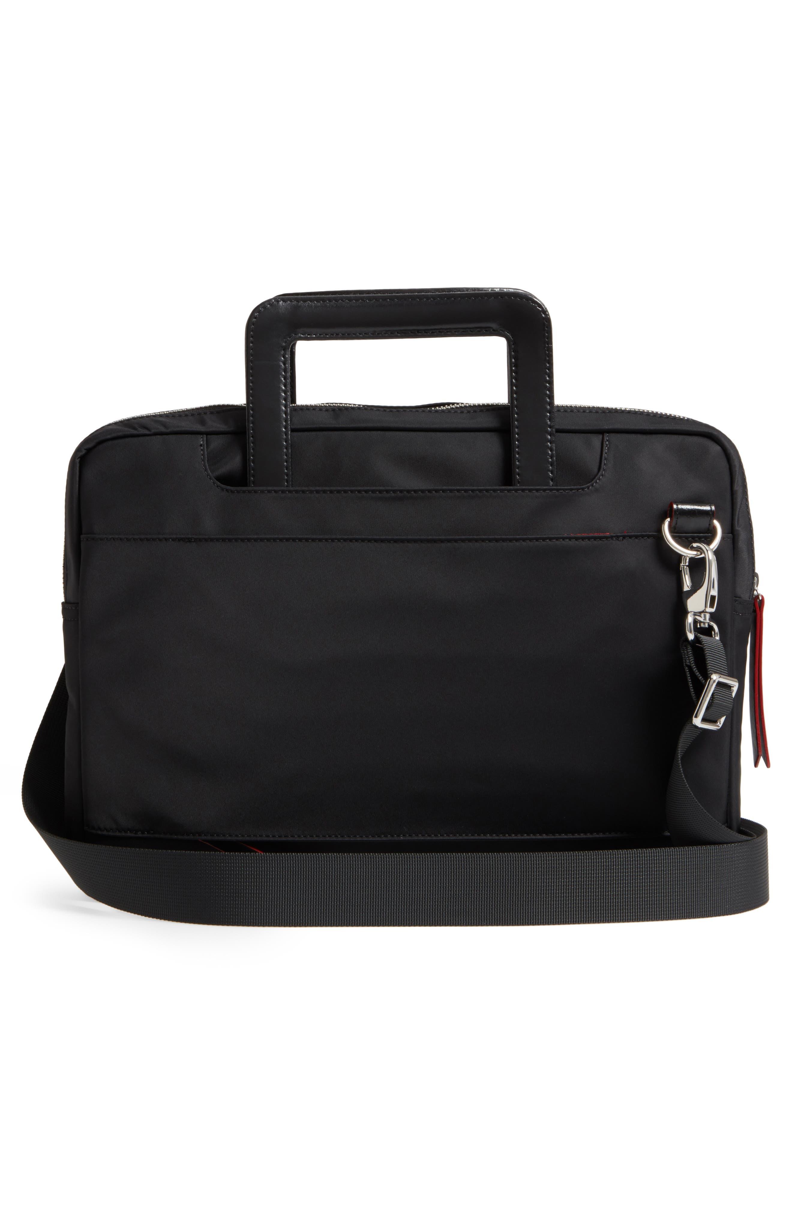 Kate Under Lock & Key Cora Laptop Crossbody Bag,                             Alternate thumbnail 3, color,