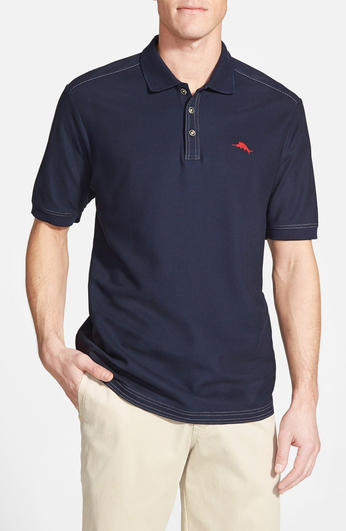 'The Emfielder' Original Fit Piqué Polo,                             Main thumbnail 74, color,