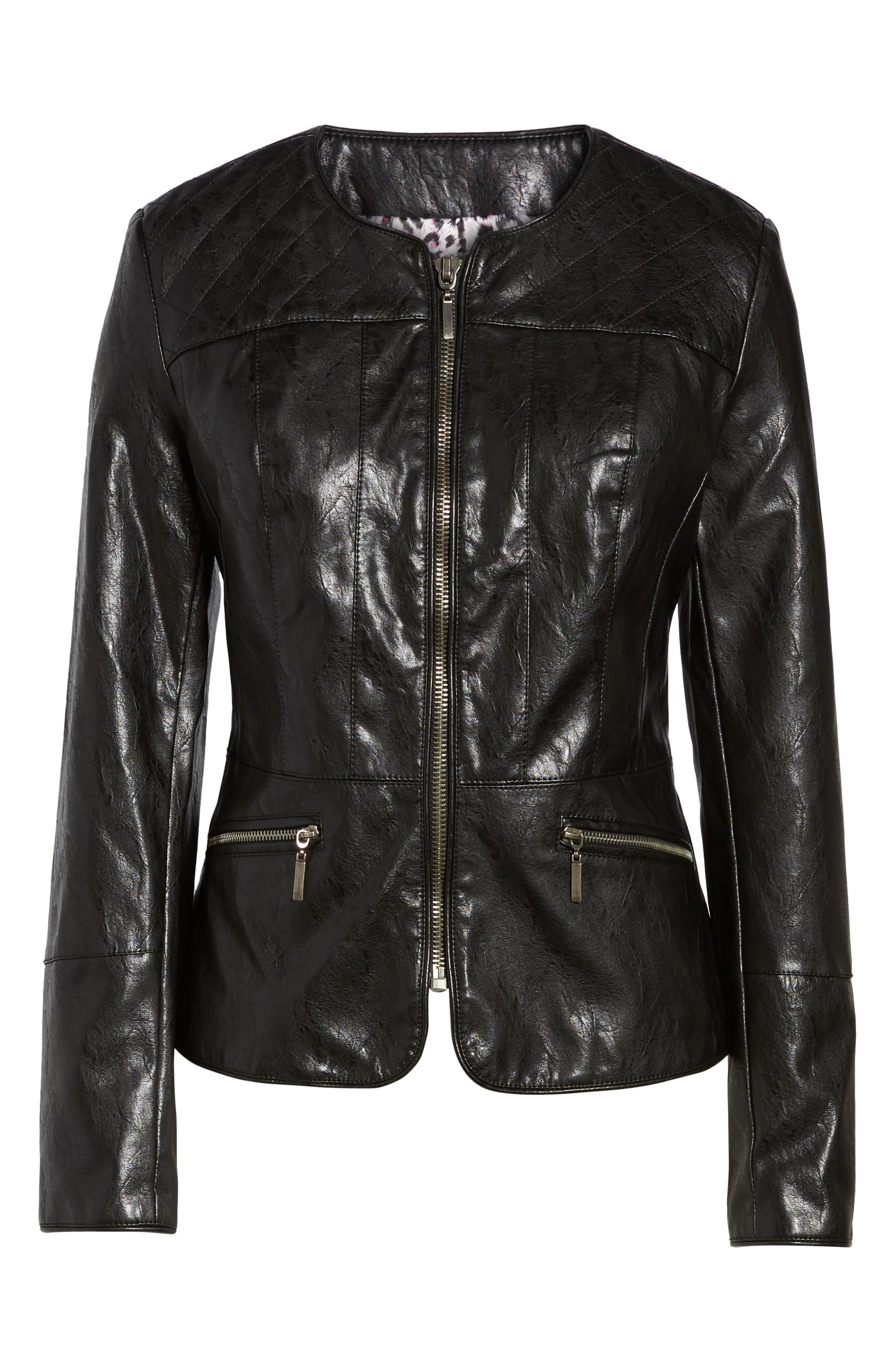 Brandy Motocross Jacket,                             Alternate thumbnail 5, color,                             002