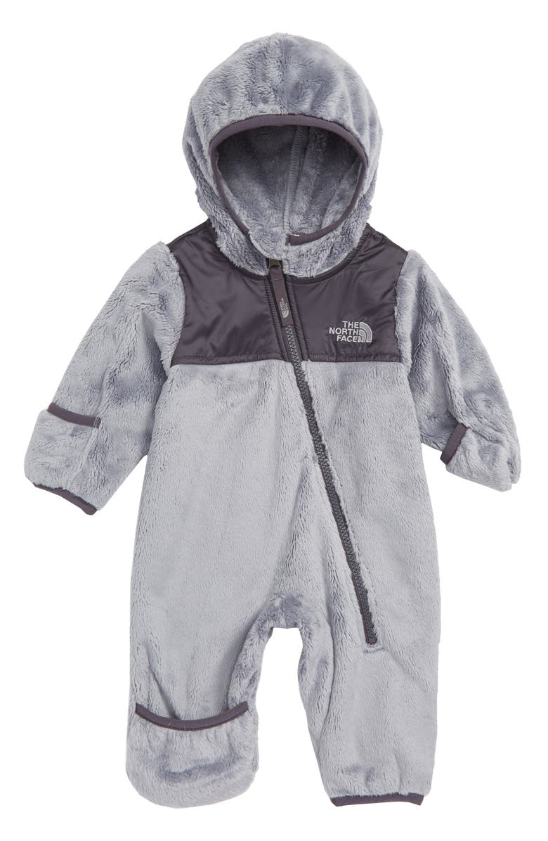 a908b4b81b The North Face Oso Hooded Fleece Romper (Baby)