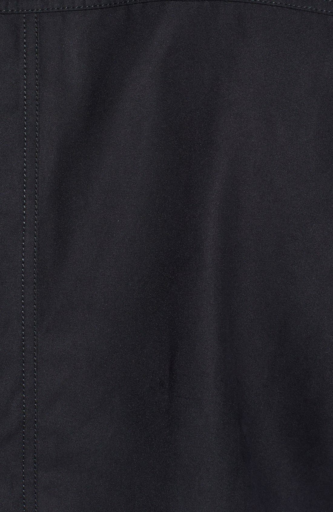 Roosevelt Water Resistant Full Zip Jacket,                             Alternate thumbnail 2, color,                             BLACK