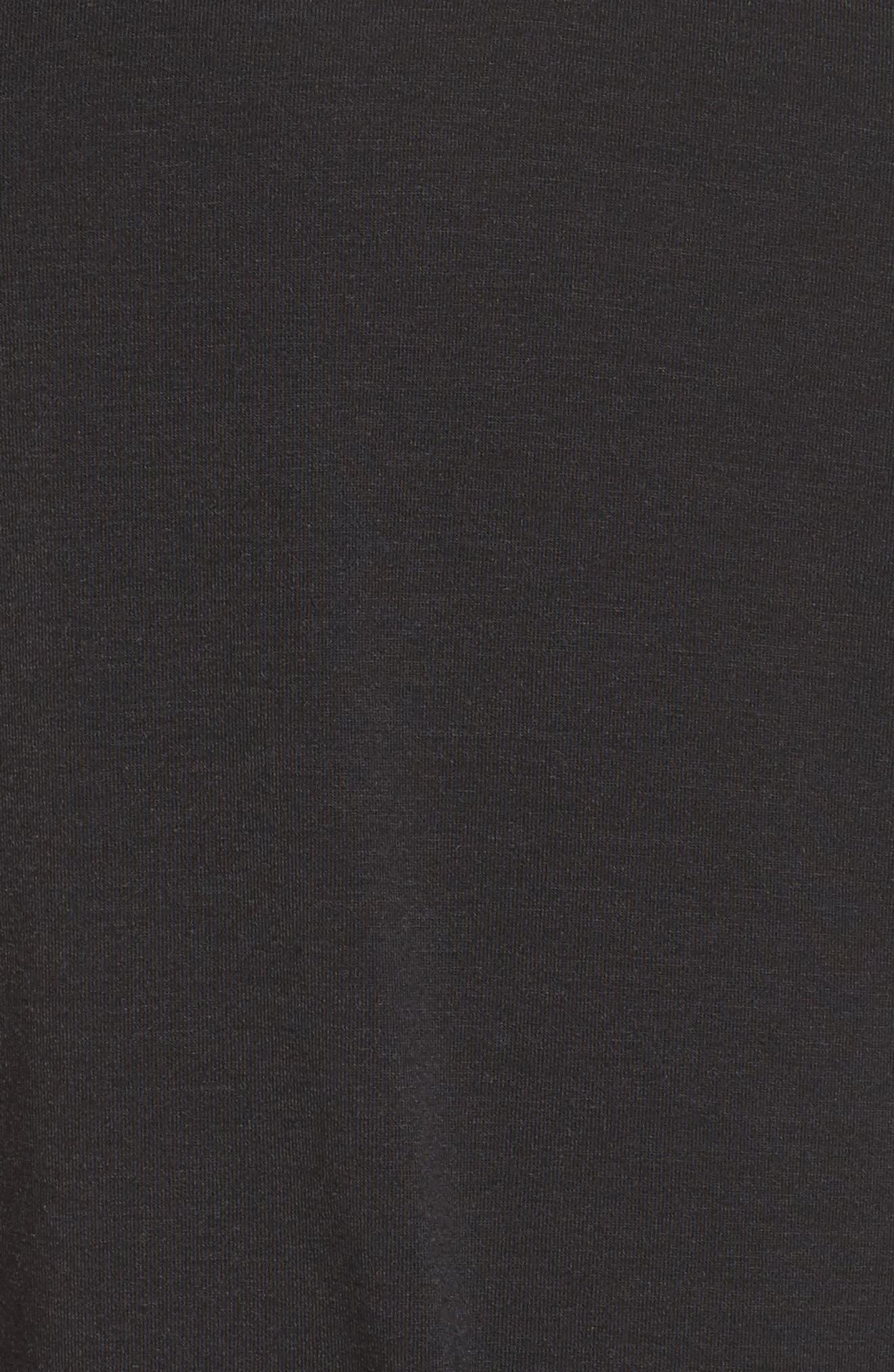 Ava Tee,                             Alternate thumbnail 6, color,                             BLACK