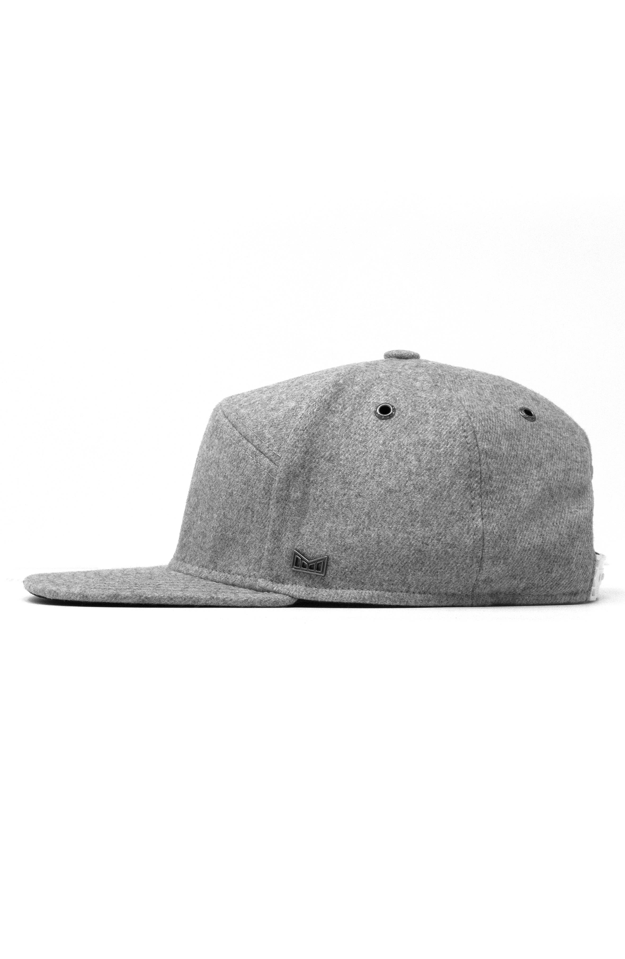 The Advocate Wool Baseball Cap,                             Alternate thumbnail 5, color,                             HEATHER GREY