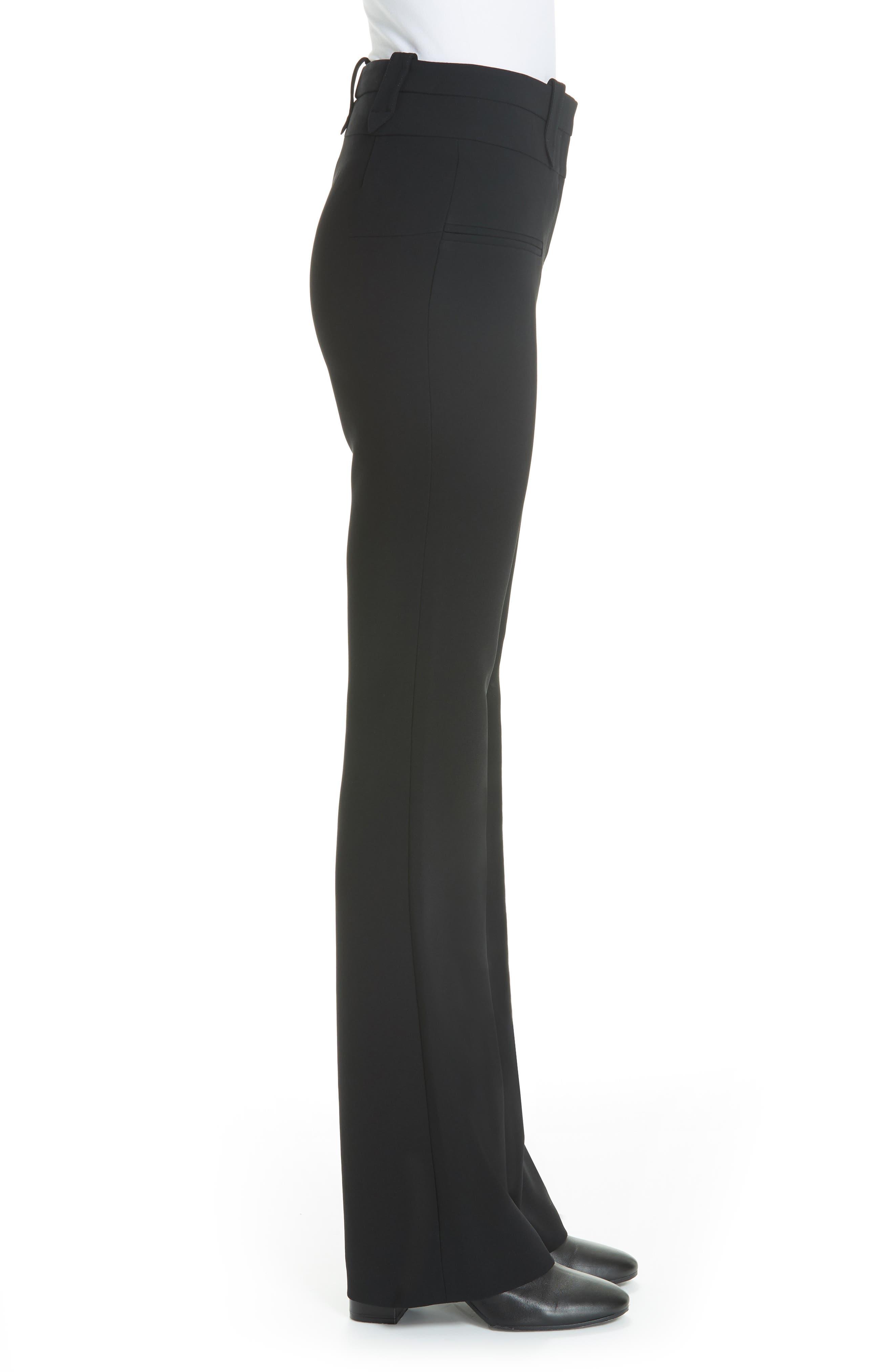 Serge Slim Pants,                             Alternate thumbnail 3, color,                             BLACK