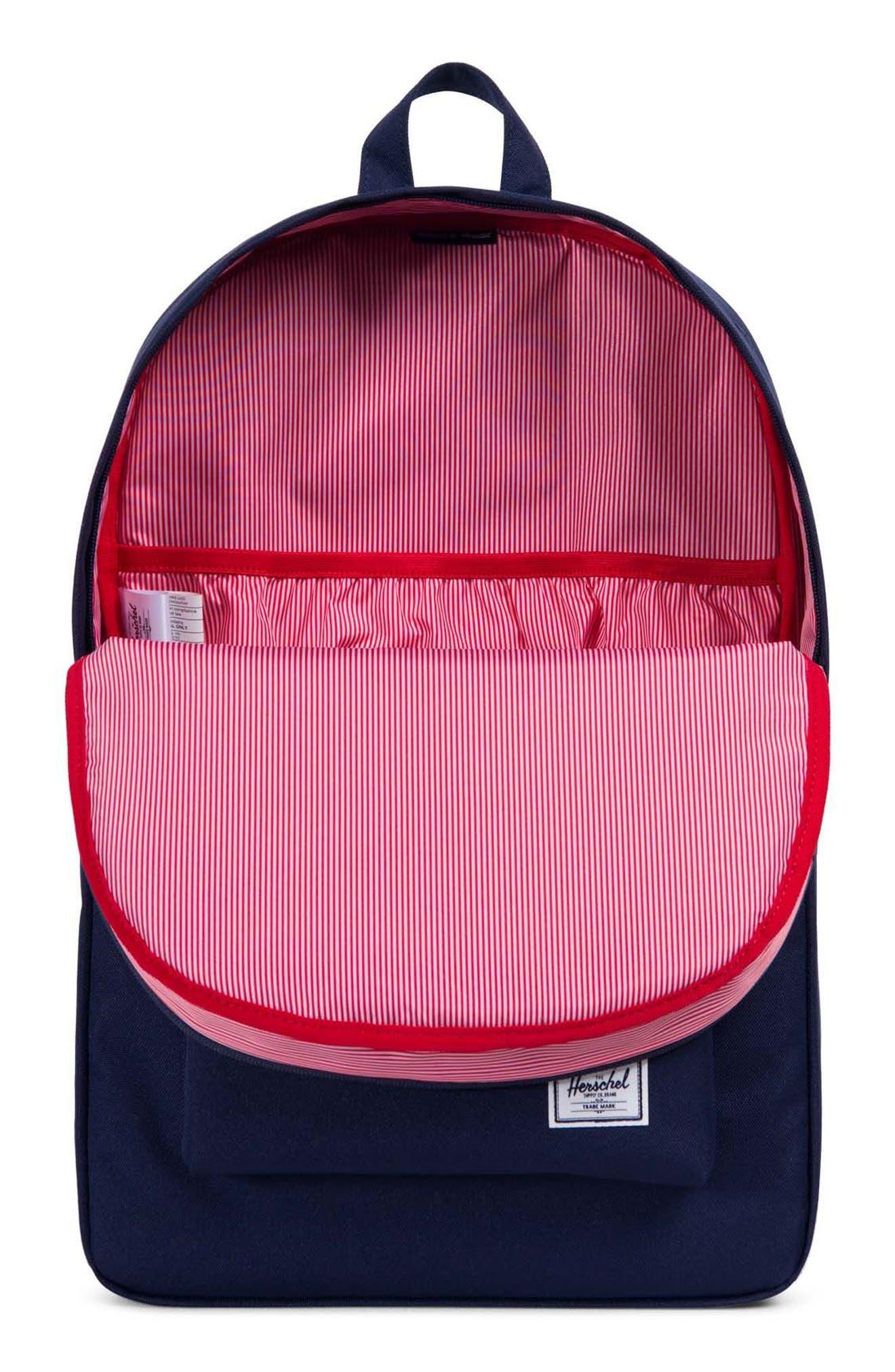 Heritage Offset Stripe Backpack,                             Alternate thumbnail 11, color,