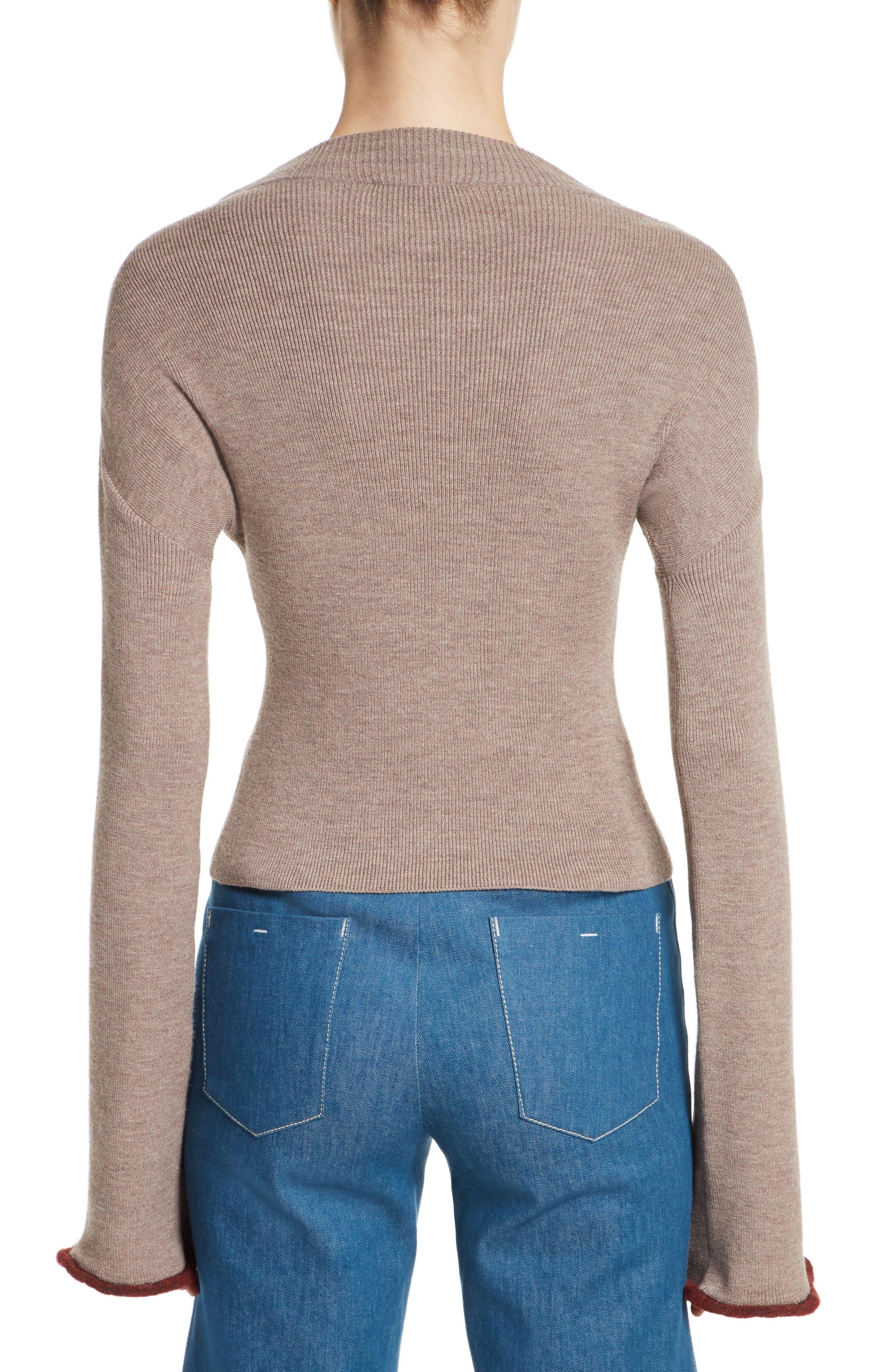 Mock Neck Sweater,                             Alternate thumbnail 2, color,                             260