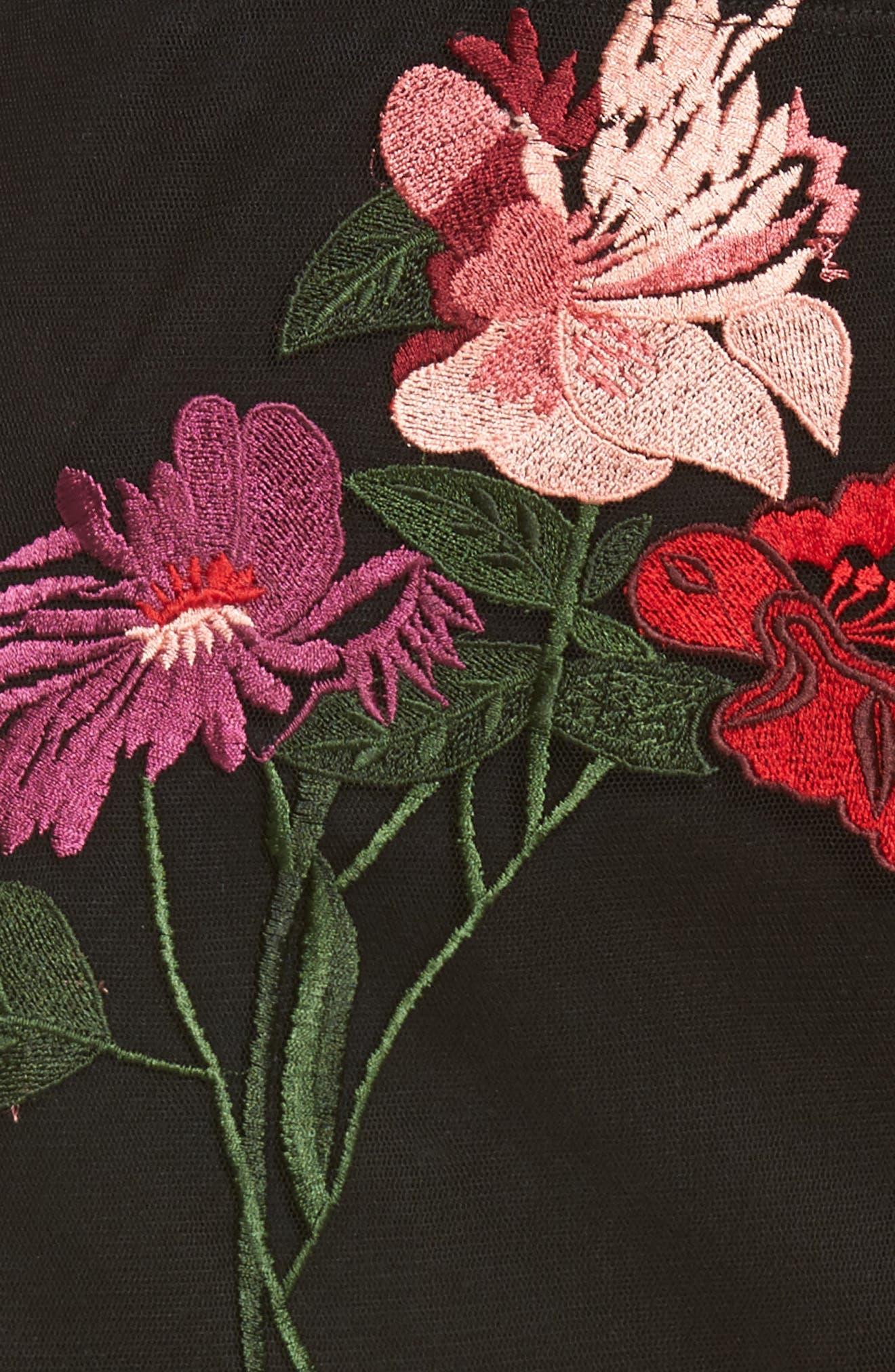 Farrow Midi Skirt,                             Alternate thumbnail 5, color,