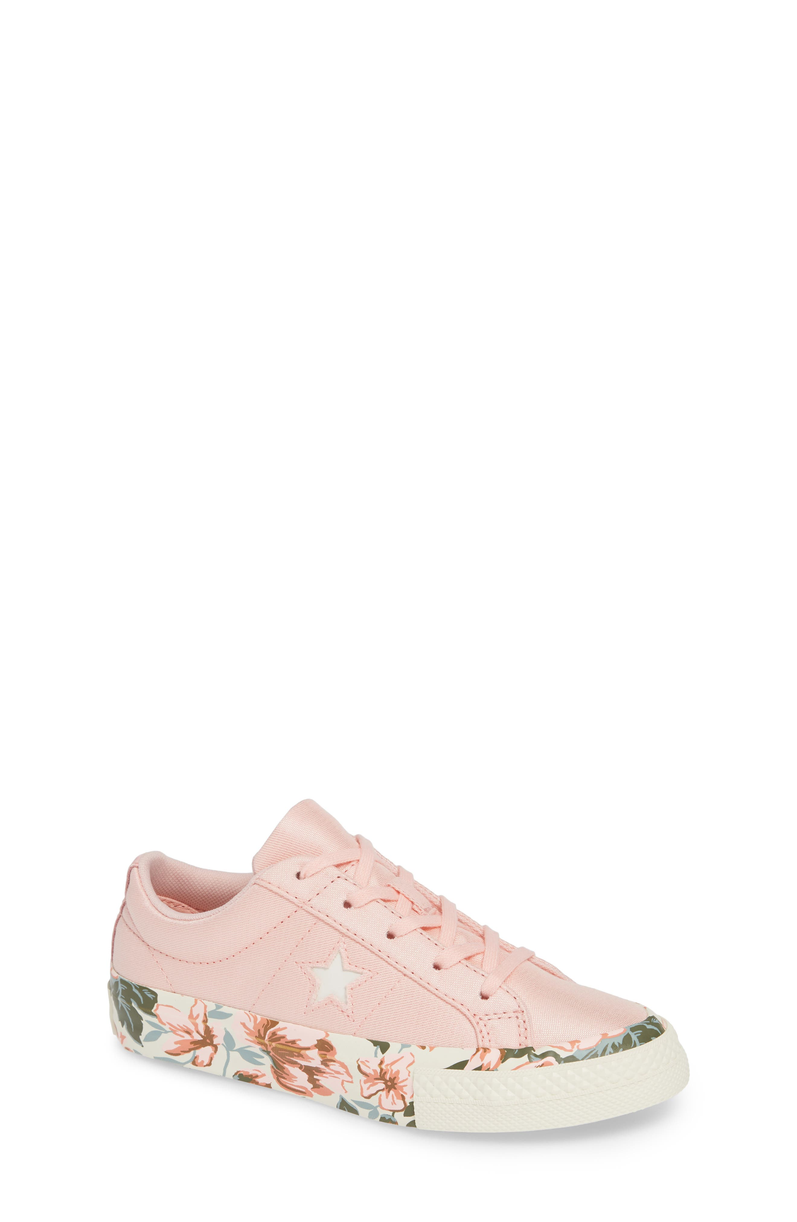 One Star Floral Sneaker,                             Main thumbnail 1, color,                             690