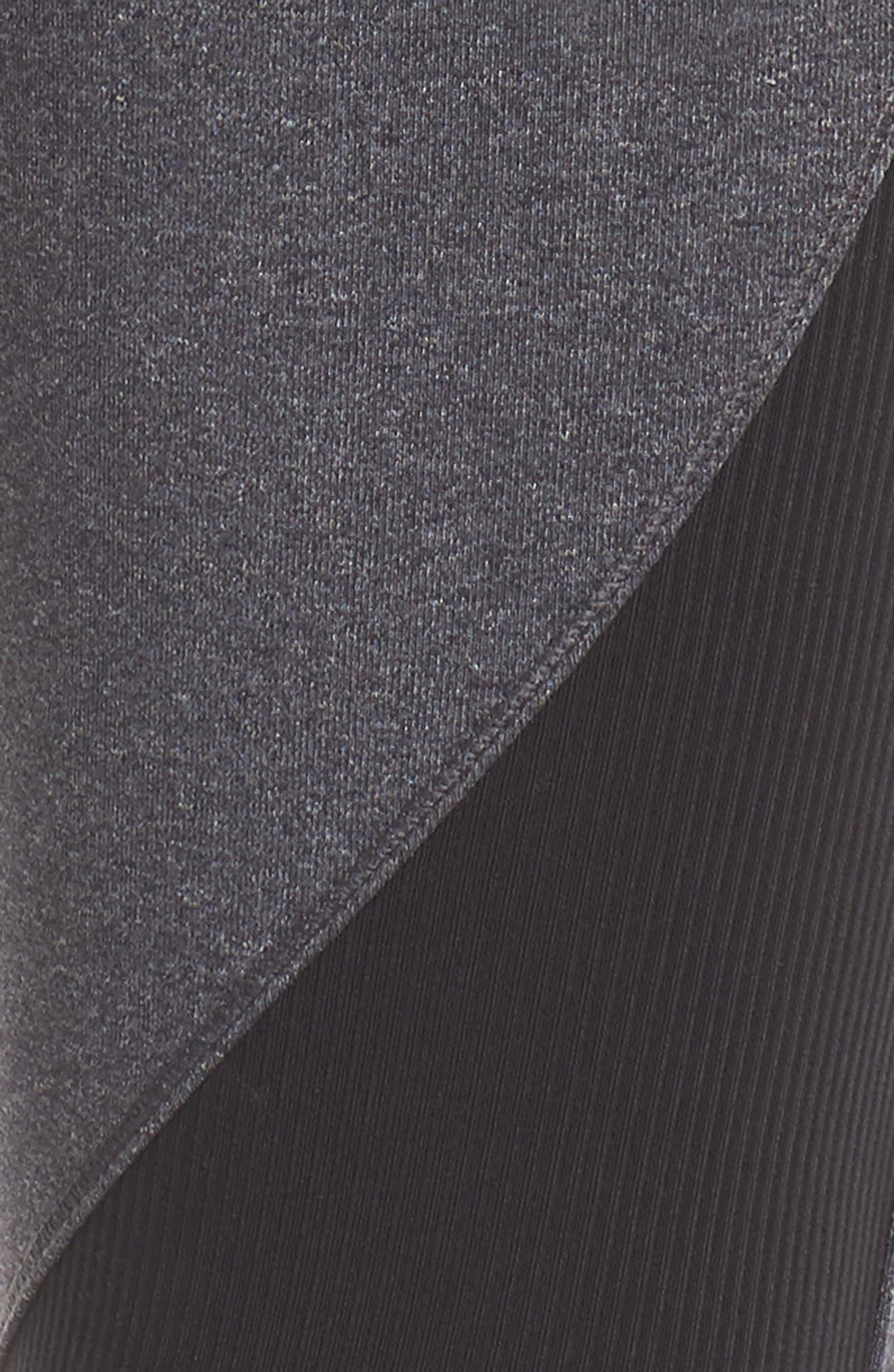 All Star Leggings,                             Alternate thumbnail 6, color,                             HEATHER GREY/ BLACK/ OFF WHITE