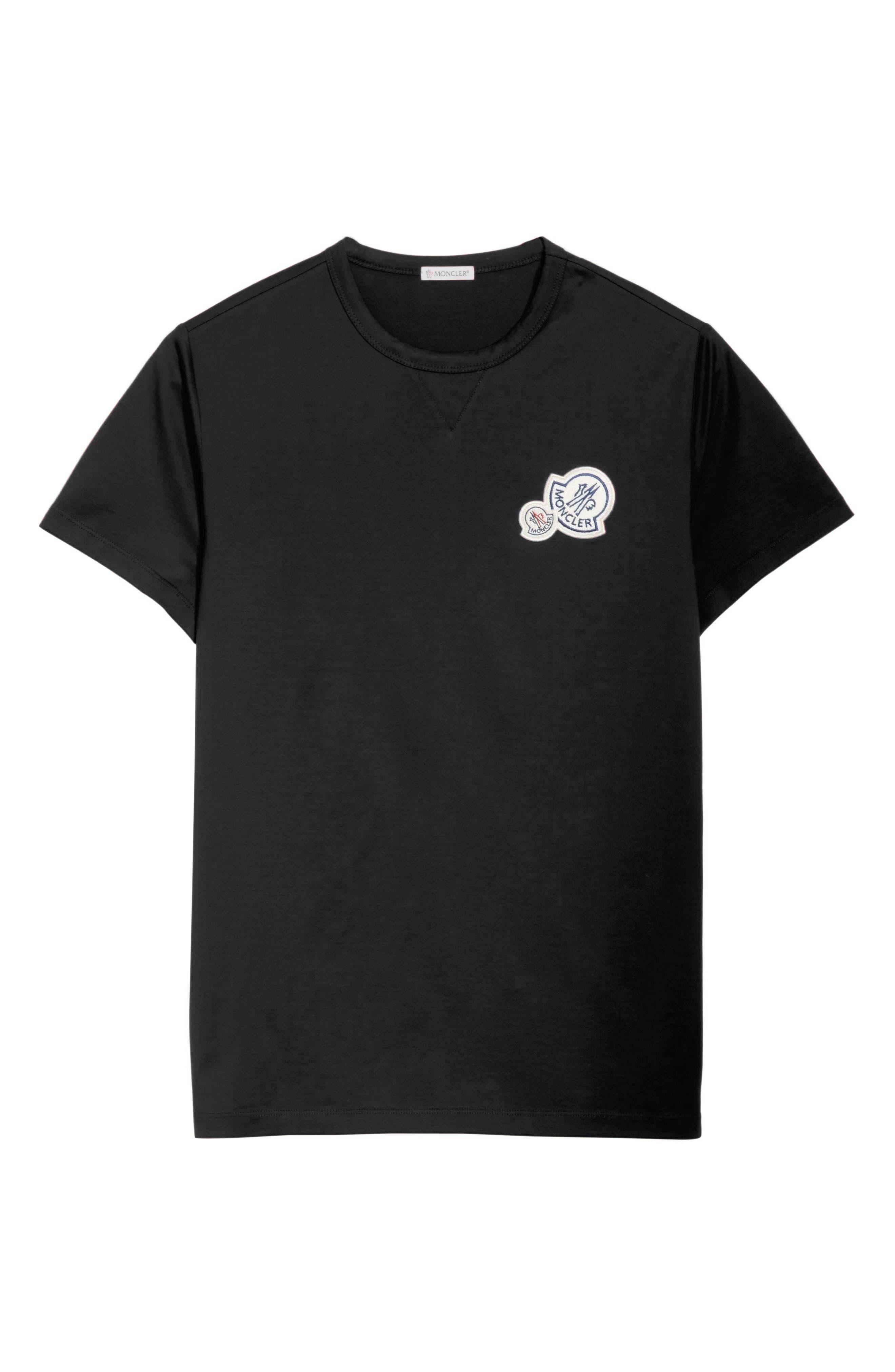 Patch T-Shirt,                             Alternate thumbnail 6, color,                             001