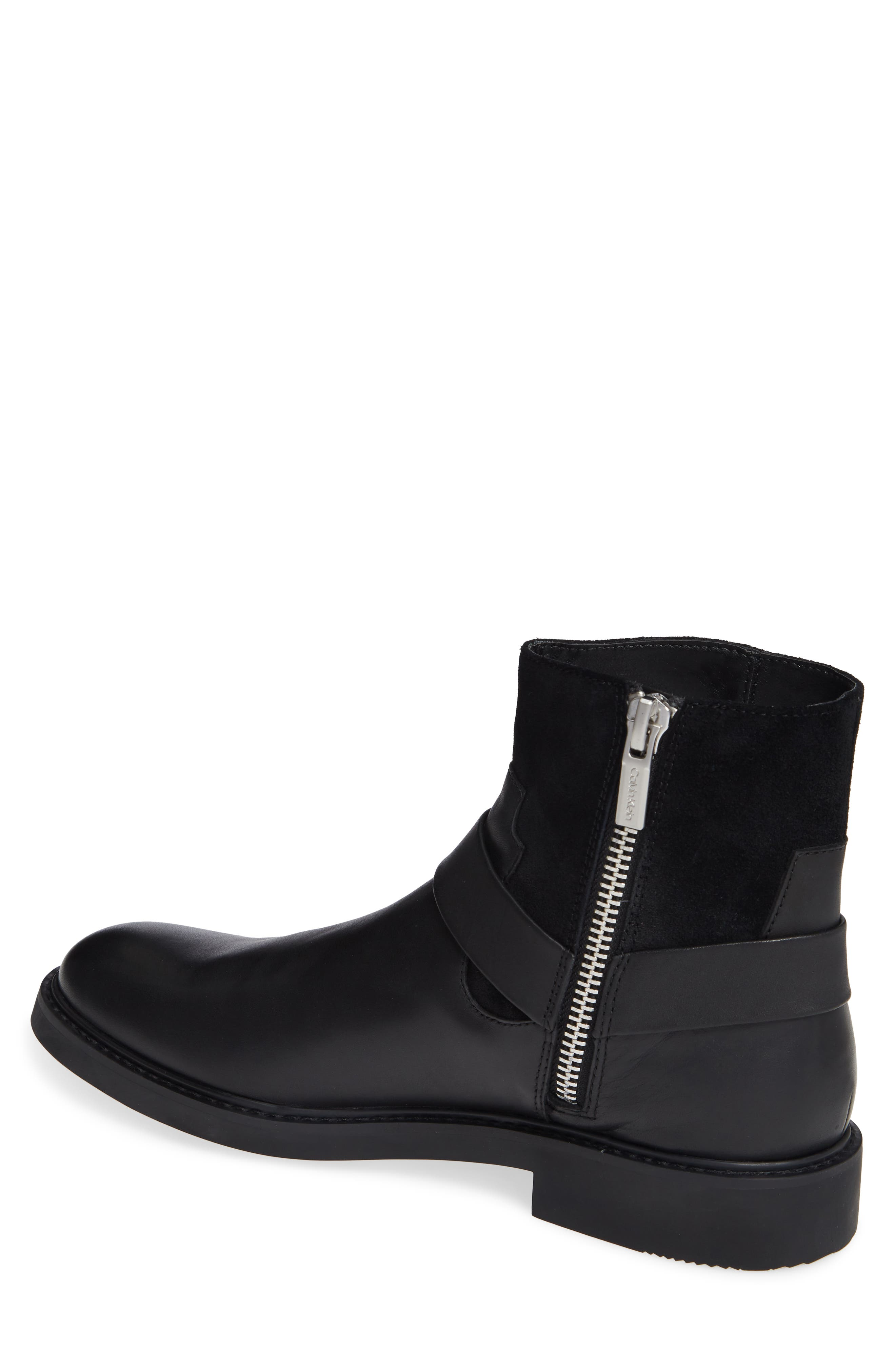 Vergil Zip Boot,                             Alternate thumbnail 2, color,                             001