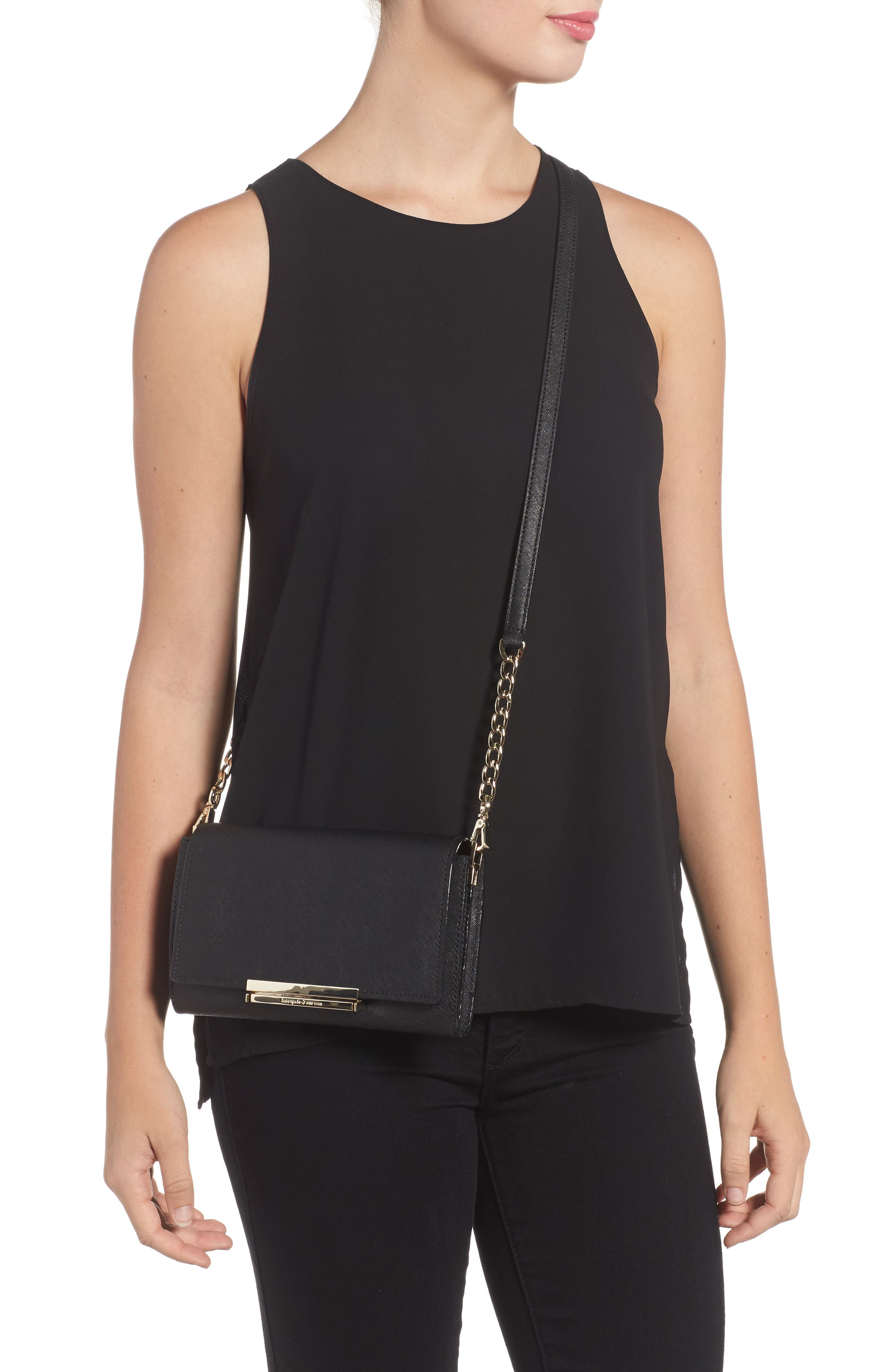 make it mine - camila leather clutch,                             Alternate thumbnail 3, color,
