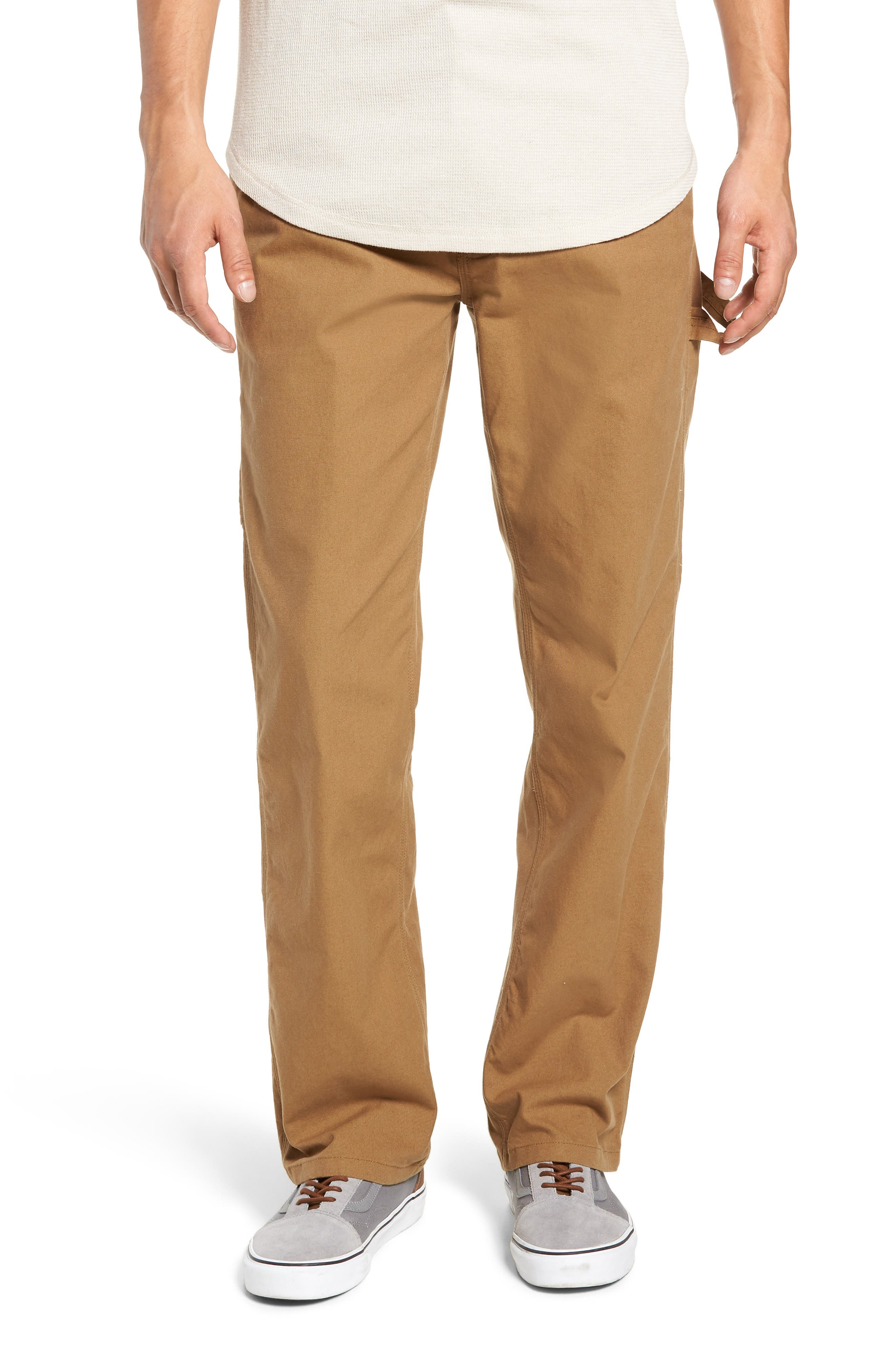 Hardware Straight Fit Carpenter Pants,                         Main,                         color, DIRT