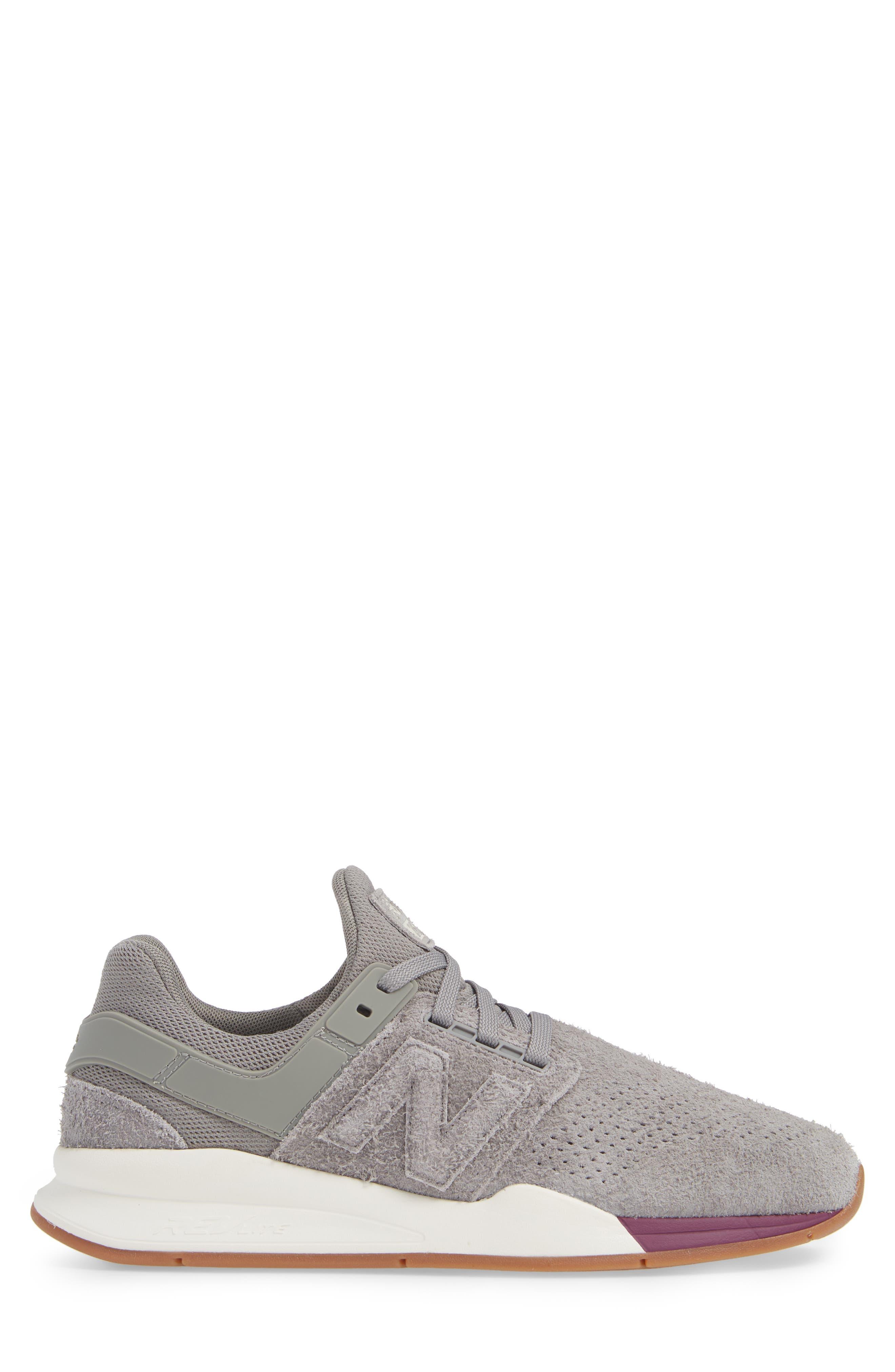 247 Suede Sneaker,                             Alternate thumbnail 3, color,                             MARBLEHEAD SUEDE