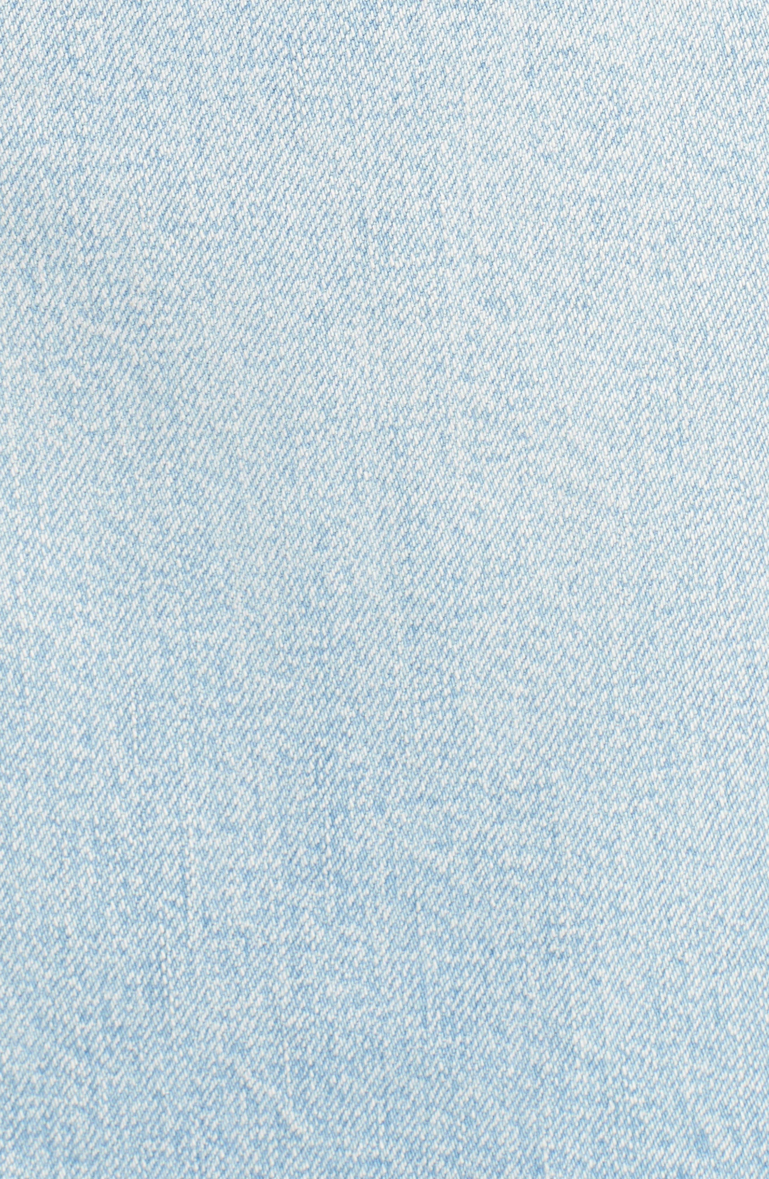 Denim Skirt,                             Alternate thumbnail 5, color,                             400