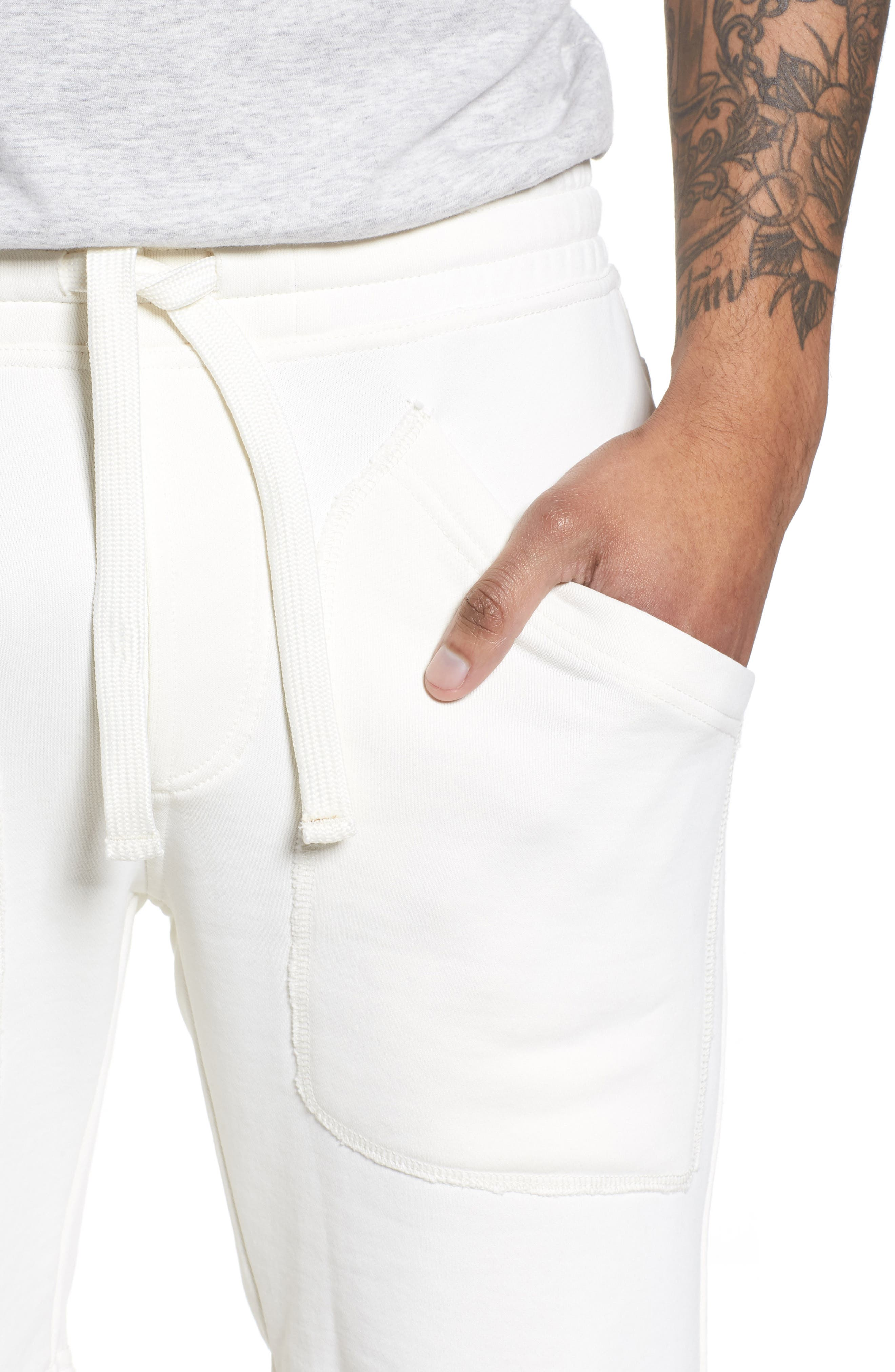 Lux French Terry Shorts,                             Alternate thumbnail 4, color,                             250