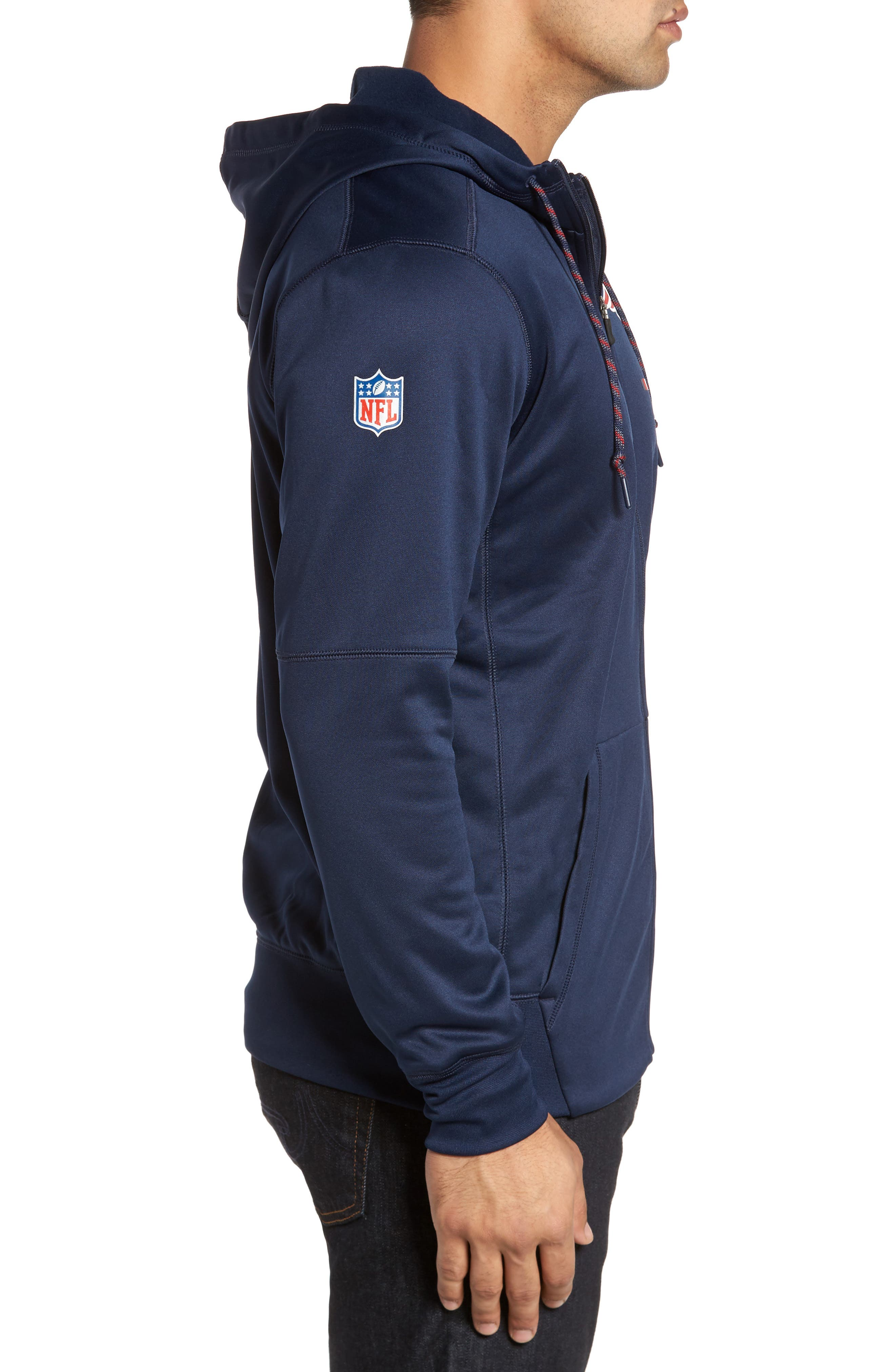 Therma-FIT NFL Graphic Zip Hoodie,                             Alternate thumbnail 18, color,