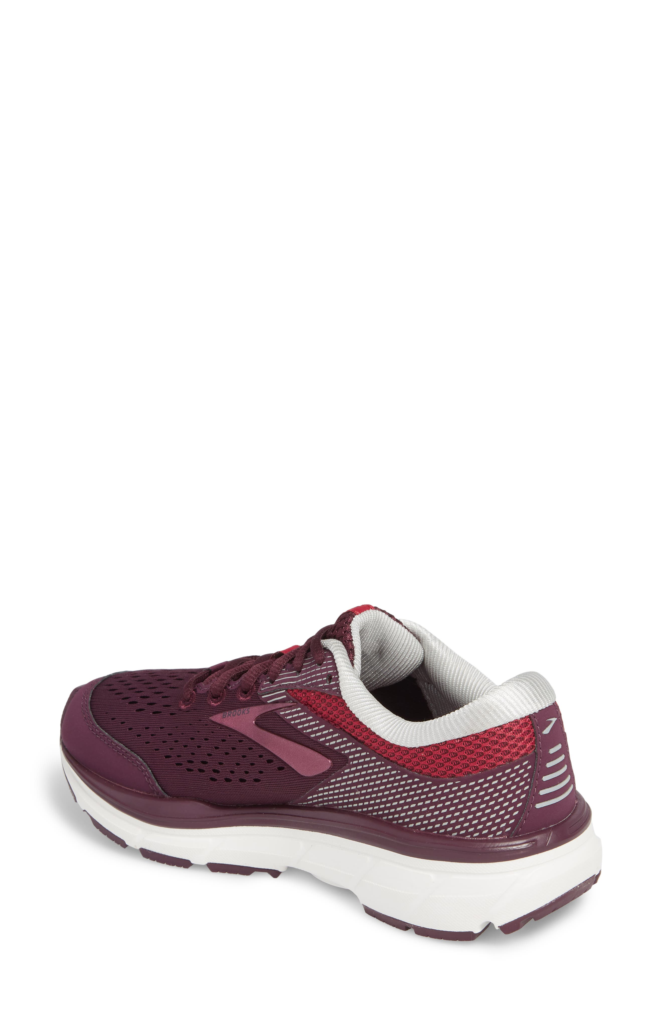 Dyad 10 Running Shoe,                             Alternate thumbnail 2, color,                             PURPLE/ PINK/ GREY