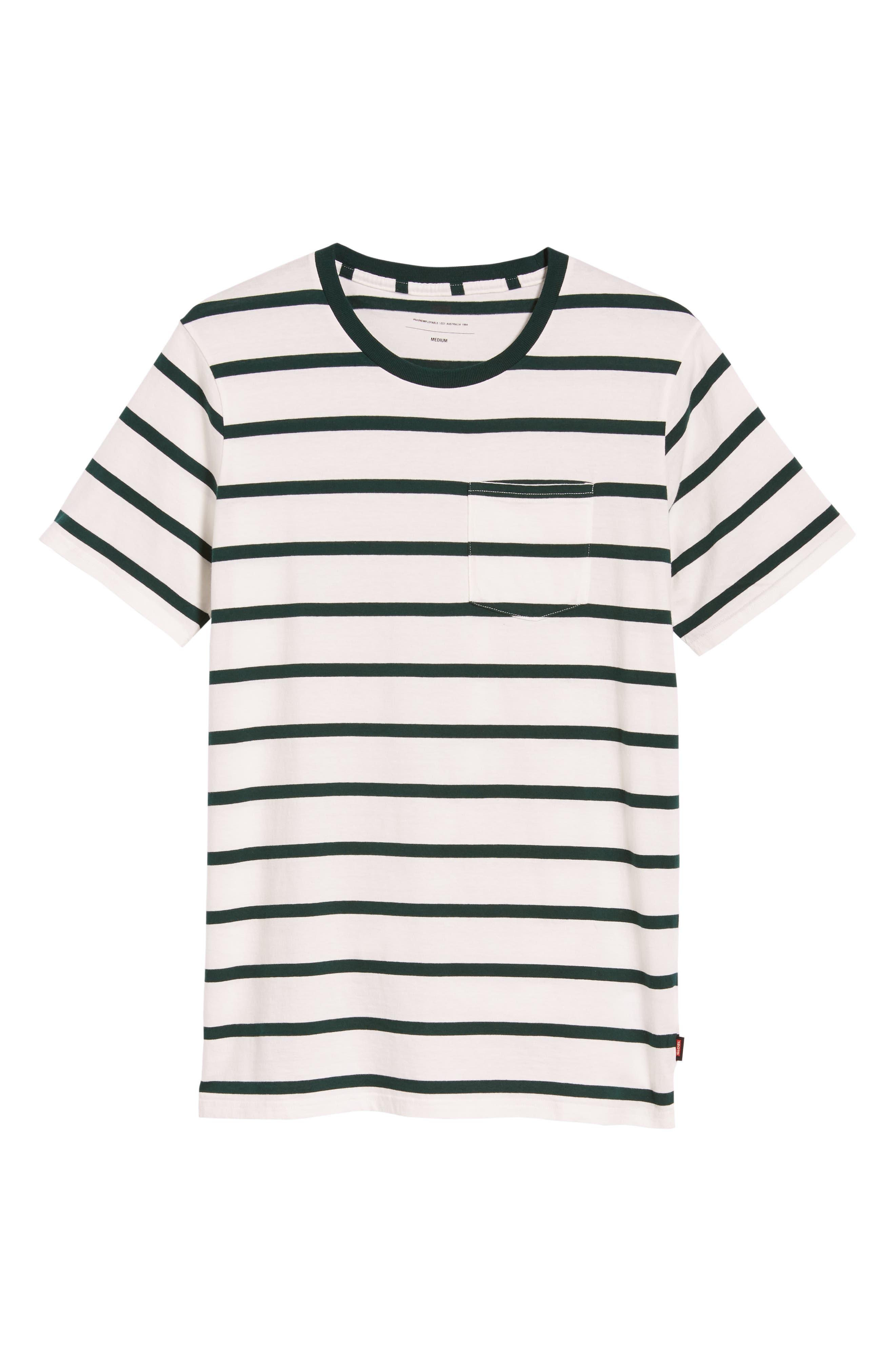 Moonshine Pocket T-Shirt,                             Alternate thumbnail 6, color,                             ECRU