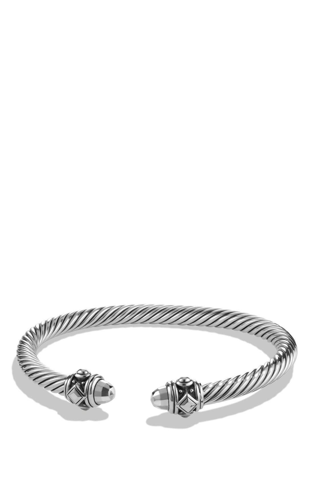 'Renaissance' Bracelet, 5mm,                             Main thumbnail 1, color,                             SILVER