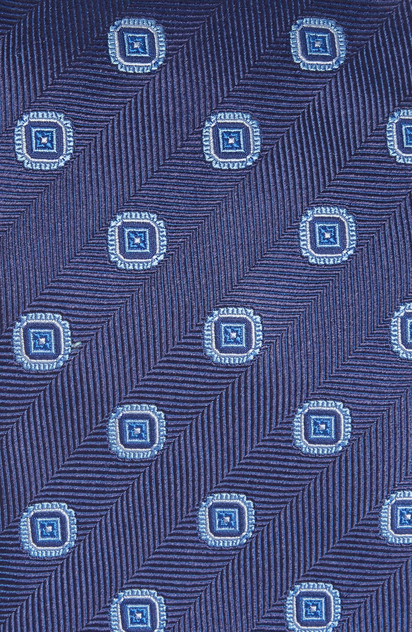 Medallion Silk Tie,                             Alternate thumbnail 2, color,                             412
