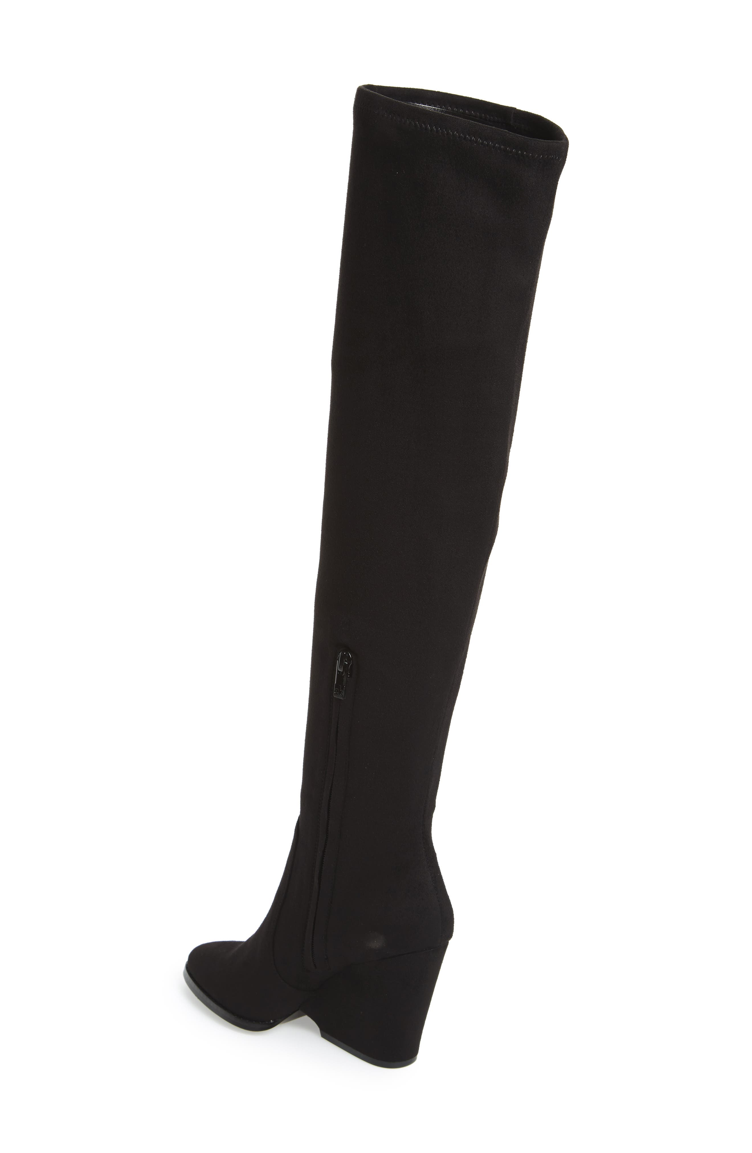Catia Over the Knee Boot,                             Alternate thumbnail 4, color,