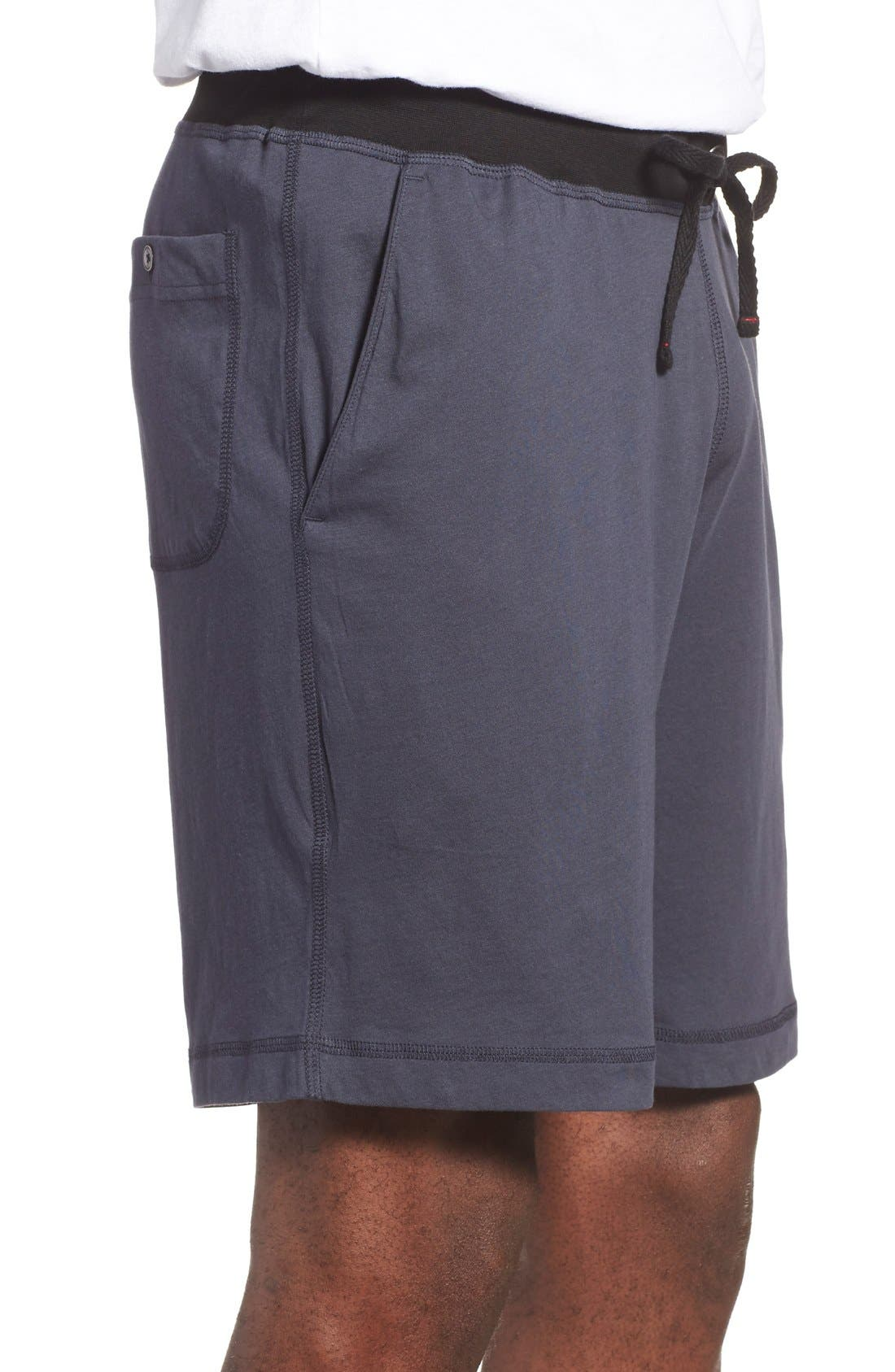 Peruvian Pima Cotton Lounge Shorts,                             Alternate thumbnail 6, color,