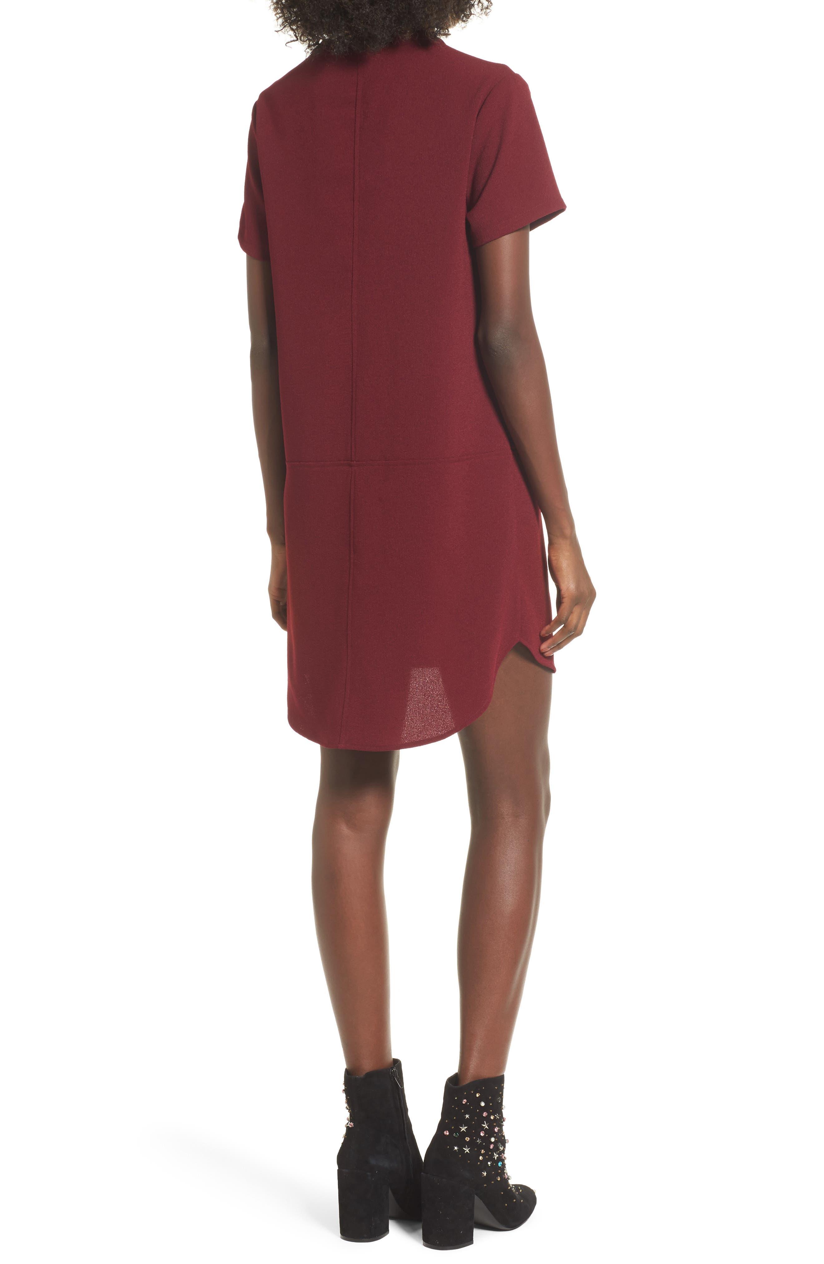 Hailey Crepe Dress,                             Alternate thumbnail 47, color,