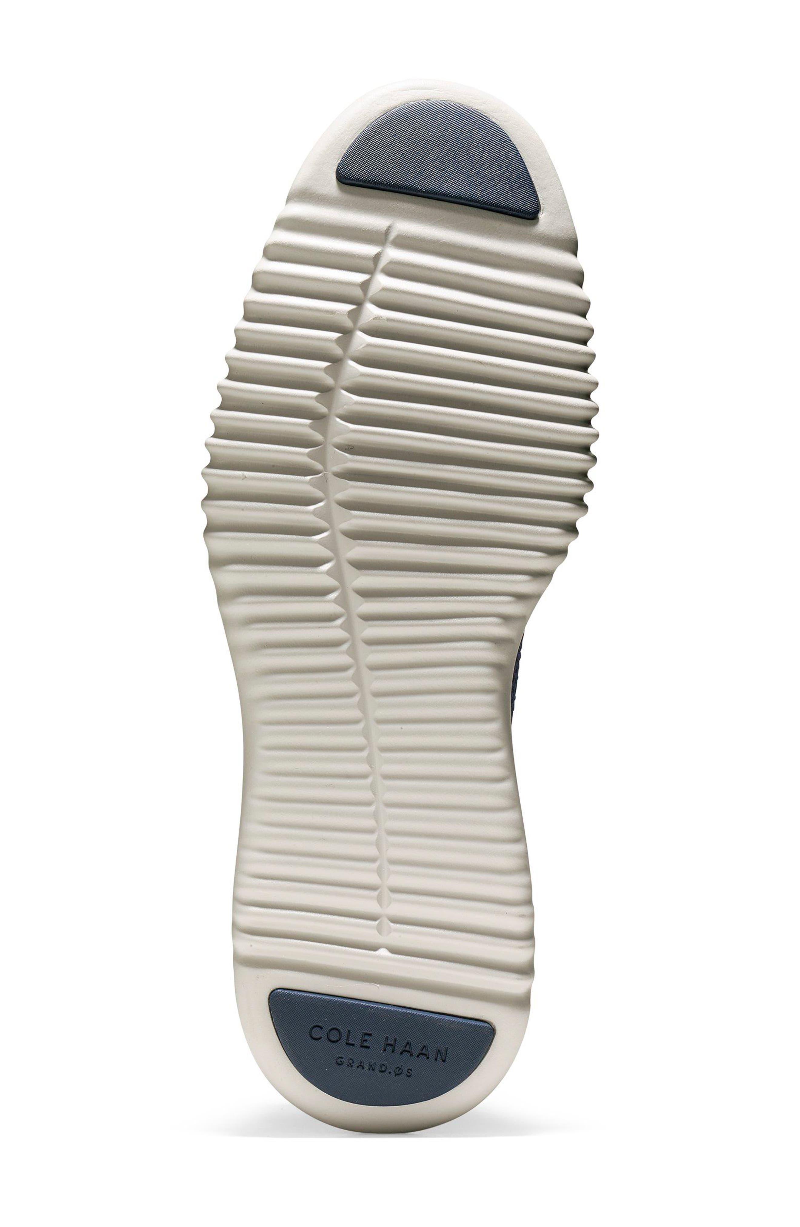 2.ZeroGrand Stitchlite Water Resistant Wingtip,                             Alternate thumbnail 6, color,                             MARINE BLUE/ VAPOR GREY
