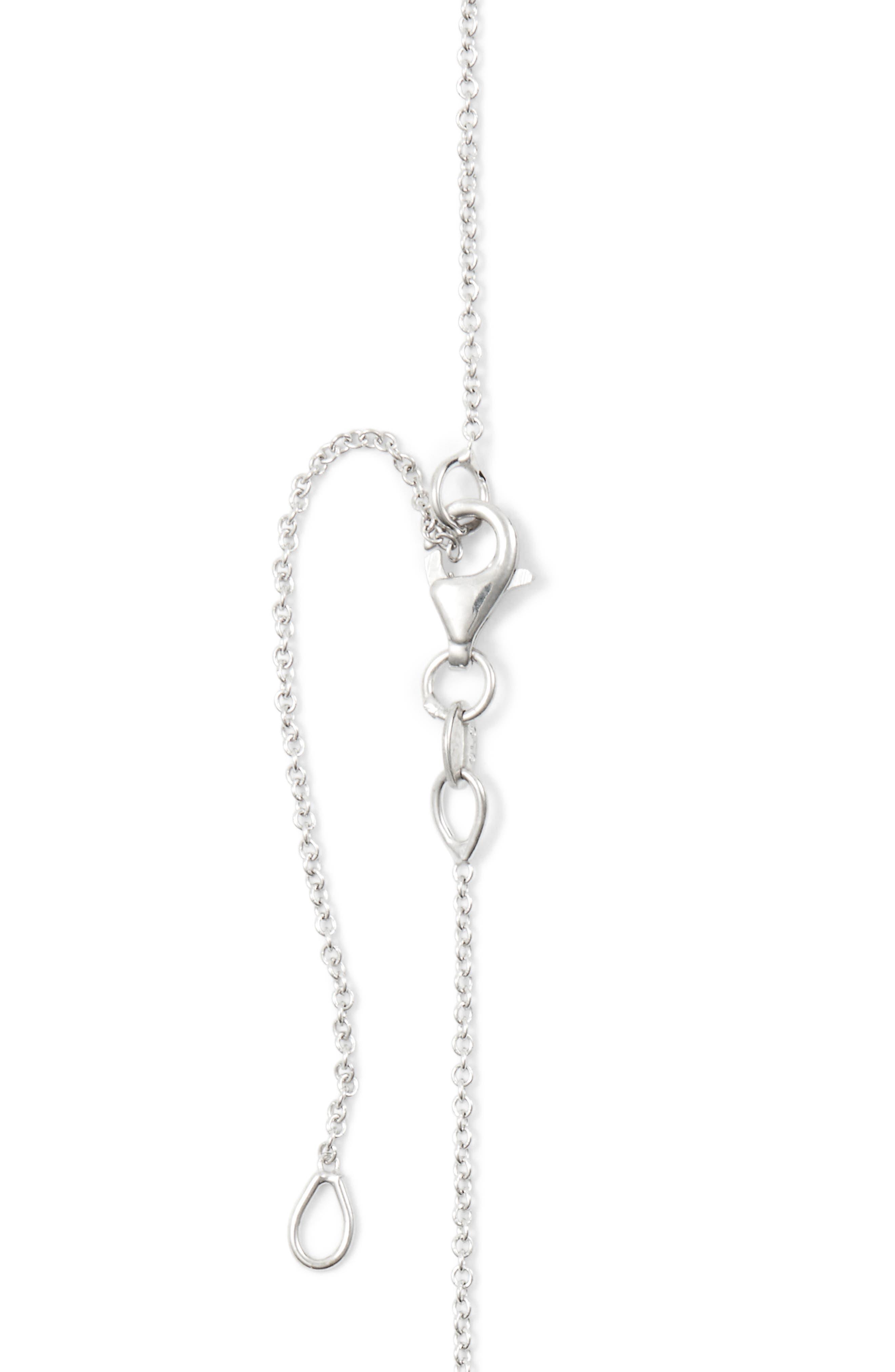 Diamond Heart Pendant Necklace,                             Alternate thumbnail 3, color,                             710