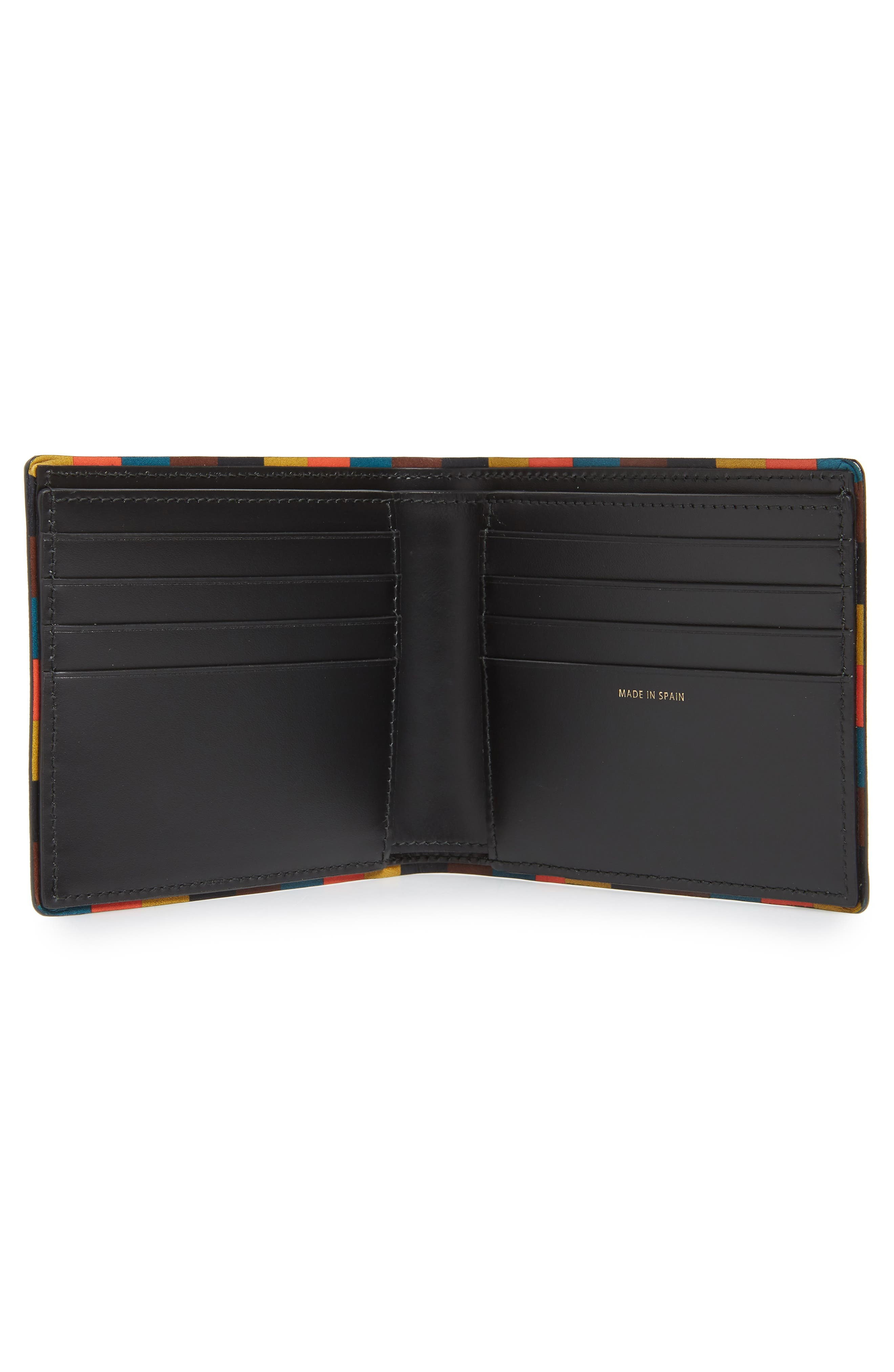 PAUL SMITH,                             Leather Billfold Wallet,                             Alternate thumbnail 2, color,                             001