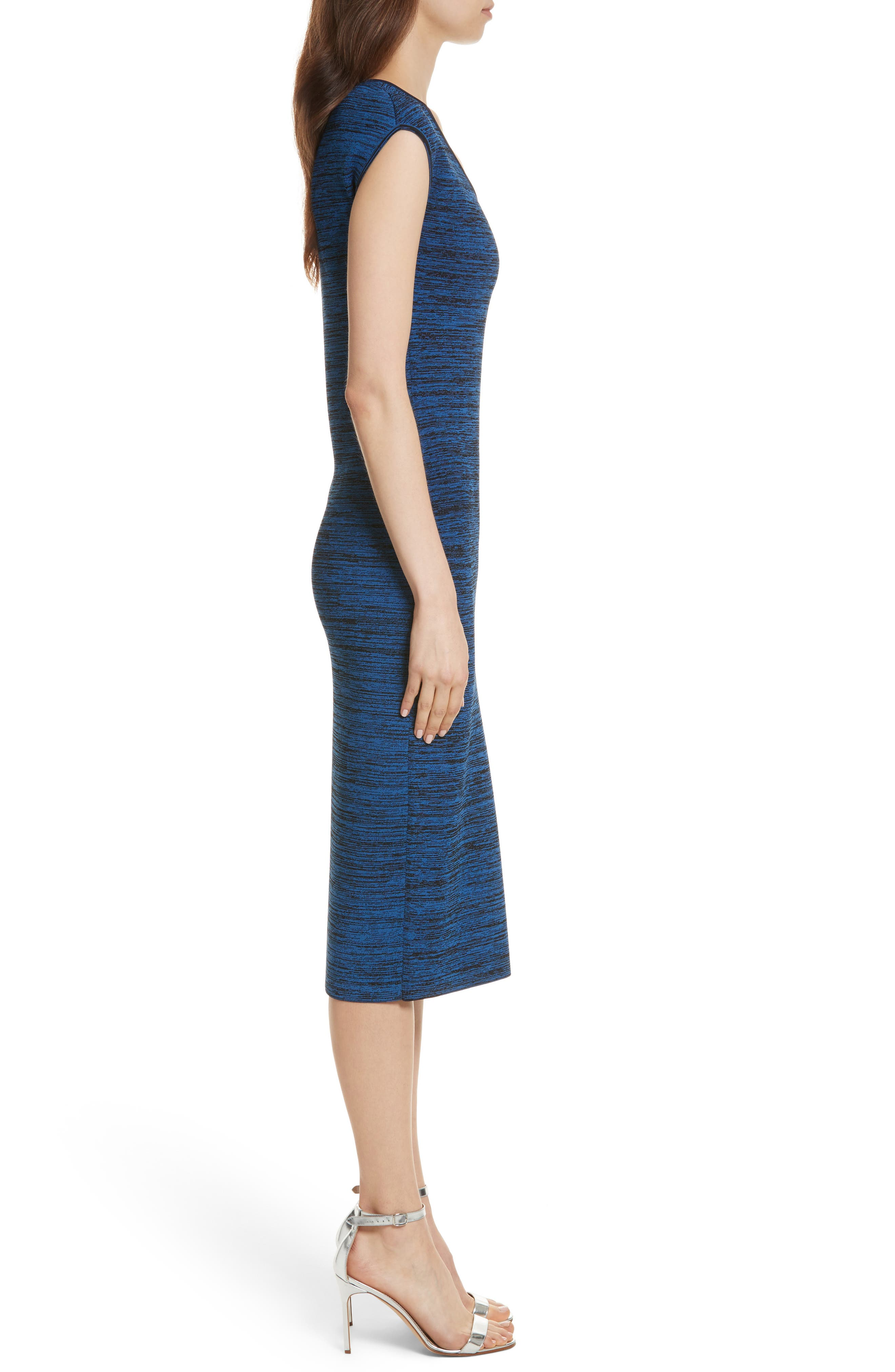 Diane von Furstenberg Sweater Dress,                             Alternate thumbnail 3, color,                             429