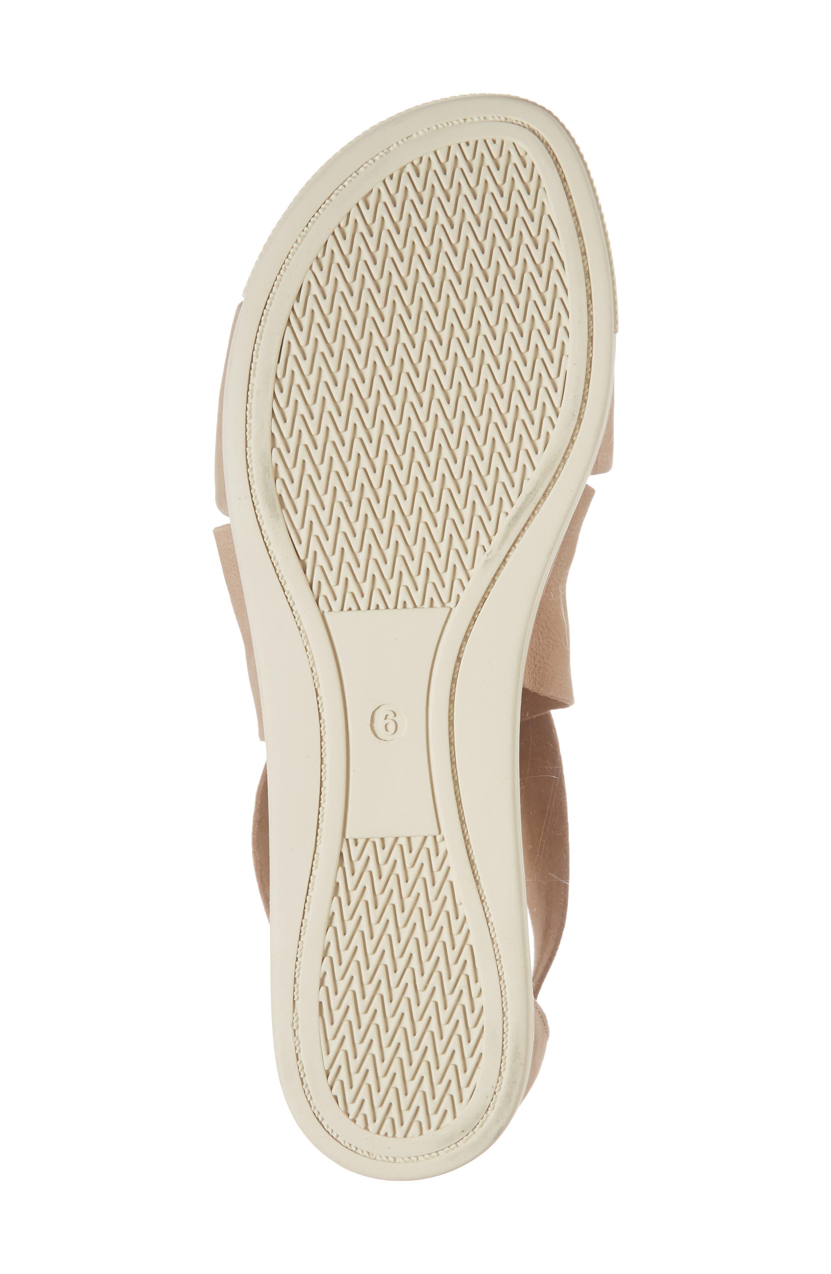 Sport Platform Sandal,                             Alternate thumbnail 6, color,                             LATTE NUBUCK