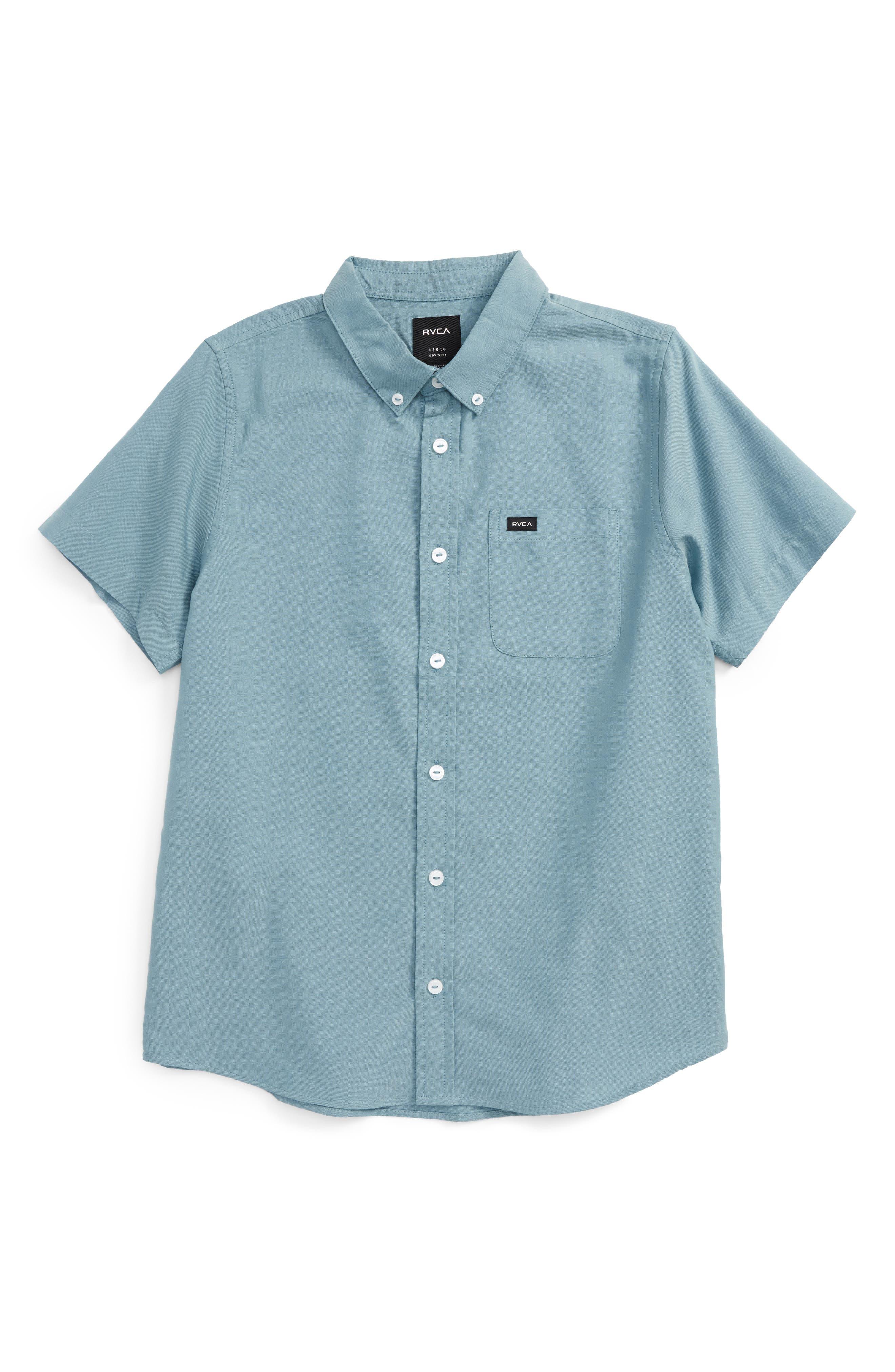 'That'll Do' Woven Shirt,                             Main thumbnail 4, color,
