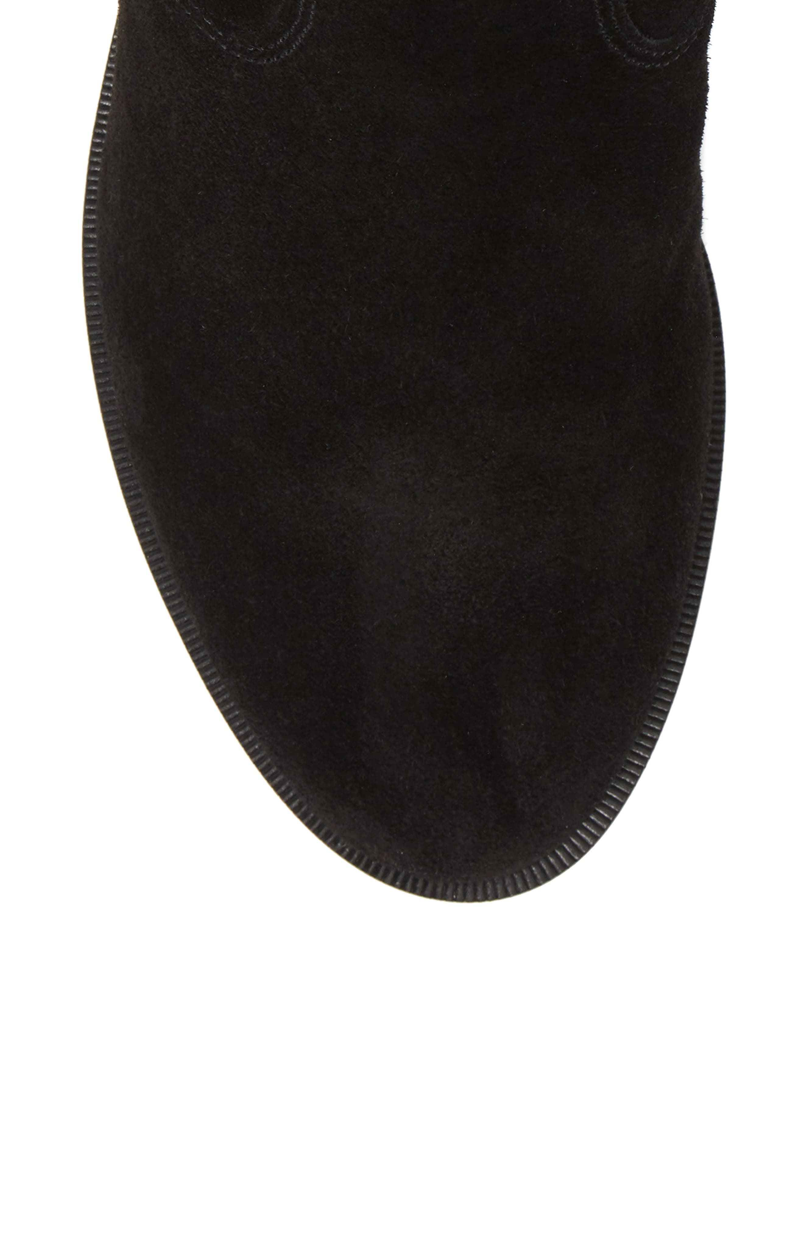 Chasidy Bootie,                             Alternate thumbnail 5, color,                             BLACK SUEDE