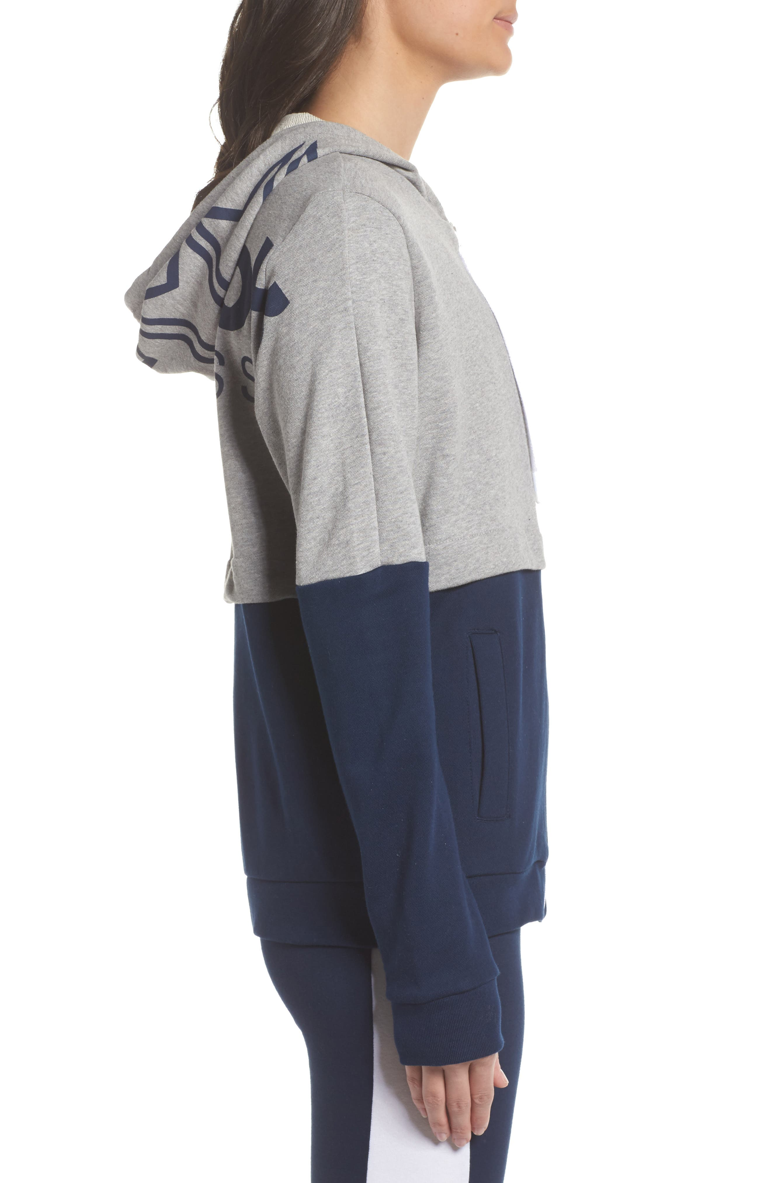 Classics French Terry Zip Hoodie,                             Alternate thumbnail 3, color,                             065