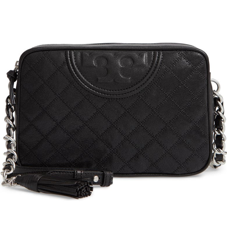 518d35d4dda7 Tory Burch Fleming Leather Crossbody Bag